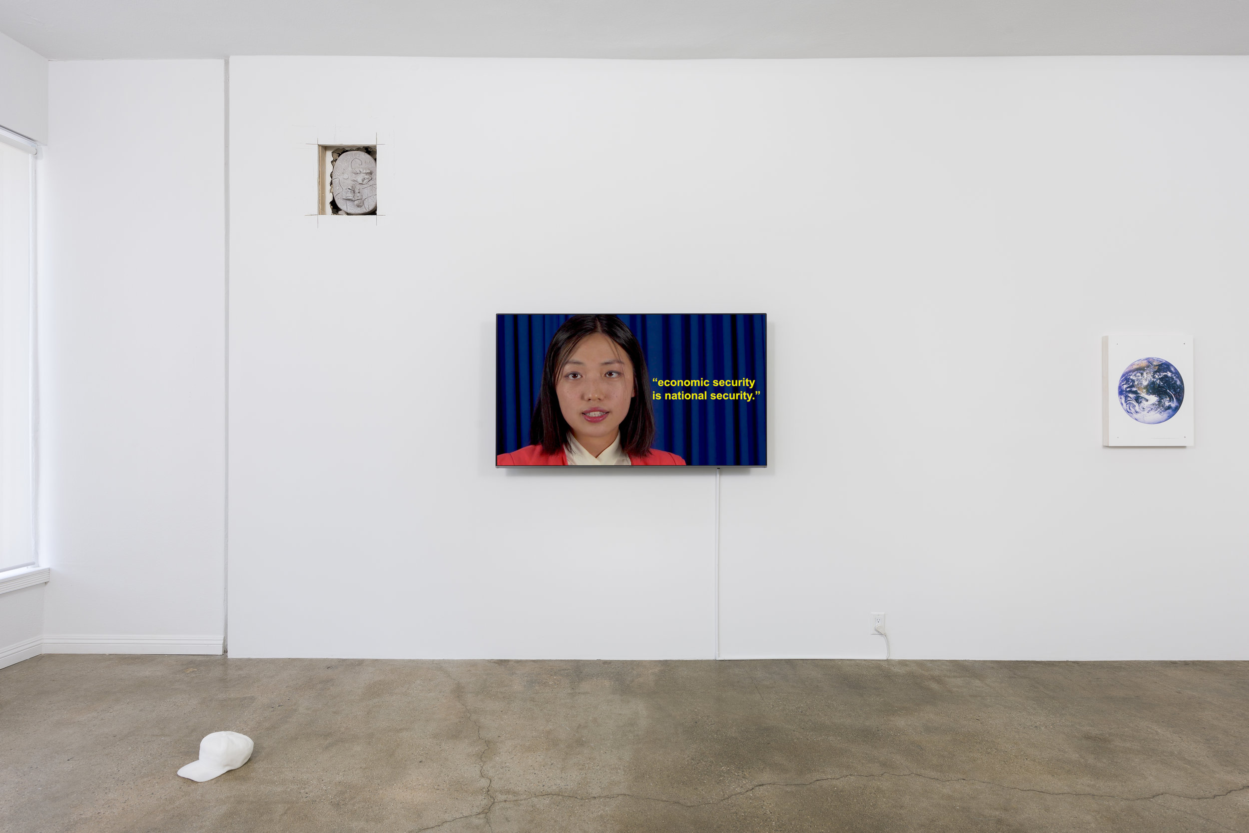 Installation view of Don Edler:  Two Minutes To Midnight   September 8 - October 27, 2019  Photo by Ruben Diaz   Link to press release .
