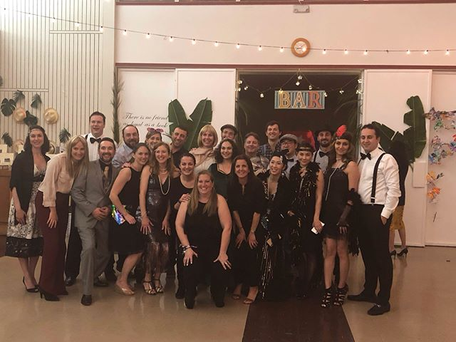 "Thank you to everyone that joined our school auction ""One for the Books!"" this past Saturday. What a blast! #schoolauction #costumes #reggioinspired #themeparty"