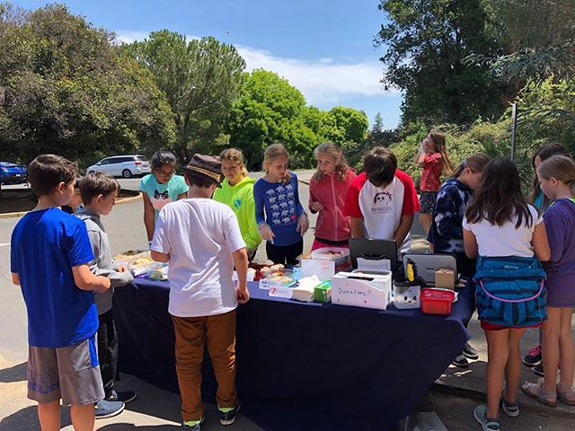 GOING ON NOW! Our 5th grade class is running a bake sale to raise funds for their legacy project, which will be a new stage. Come show your support! Going until Friday, May 17. 🍪🍩 #reggioinspired #fundraiser #elementaryschool #bakesale #projects