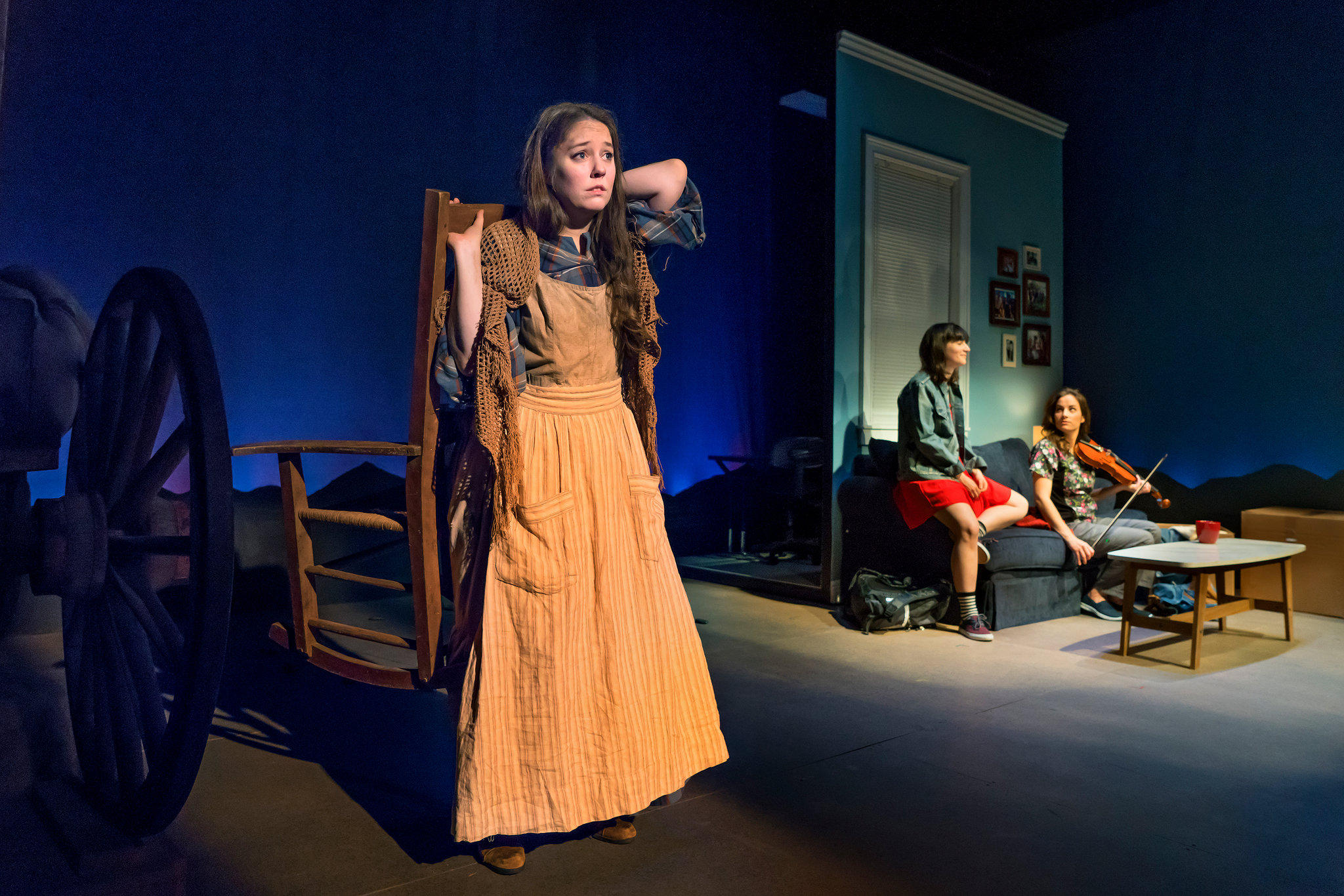 From left, Emily Louise Perkins, Liba Vaynberg and Laura Ramadei.Photo by Sara Krulwich/The New York Time