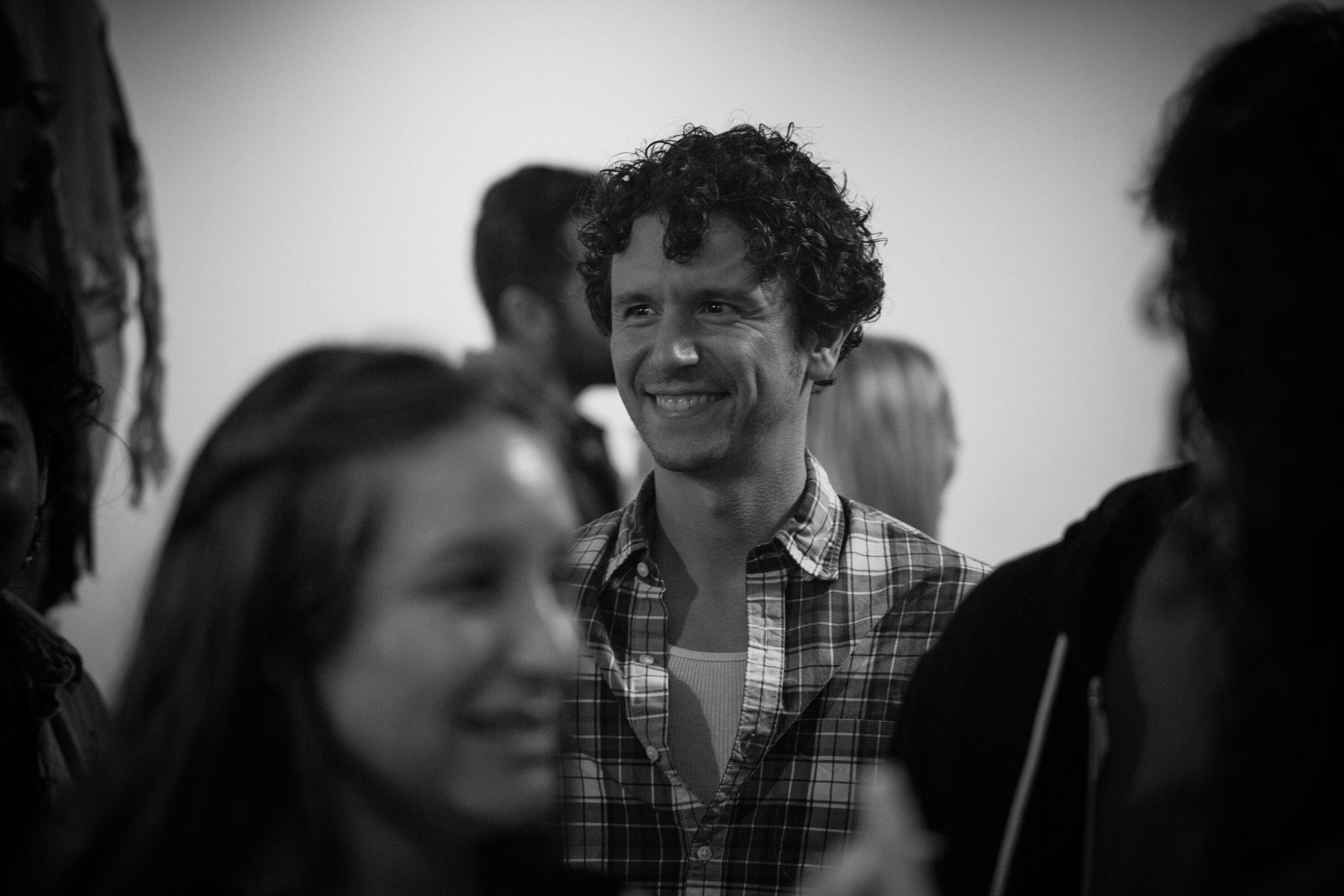 Co-Artistic Director Aaron Rossini.Photo by Katherine Oostman.