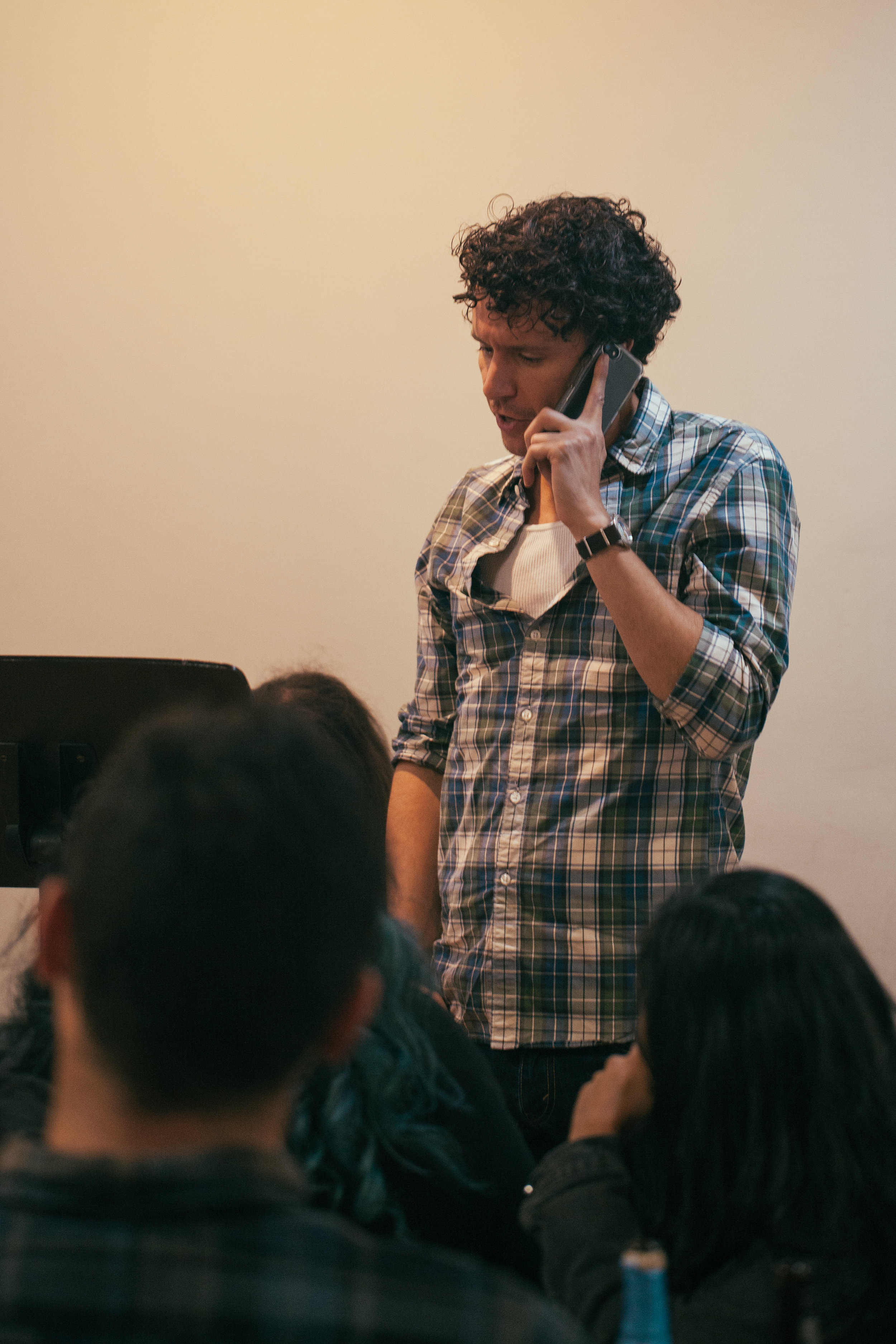 Co-Artistic Director and actor Aaron Rossini.Photo by Katherine Oostman.