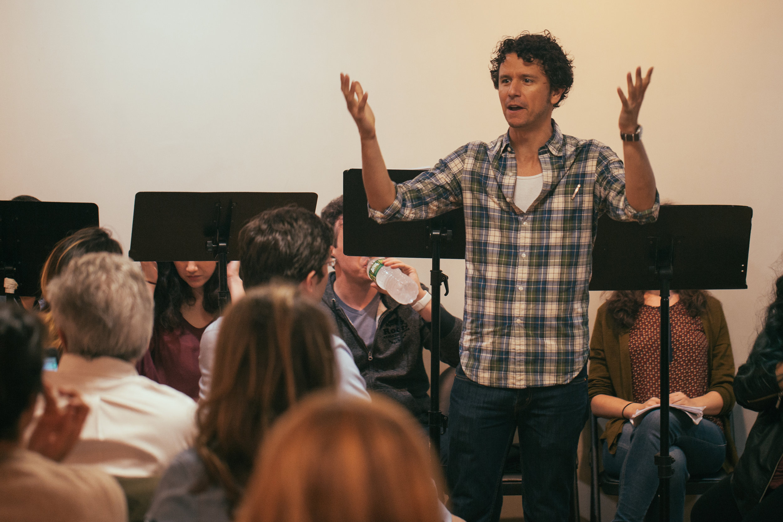 Co-Artistic Director Aaron Rossini. Photo by Katherine Oostman.