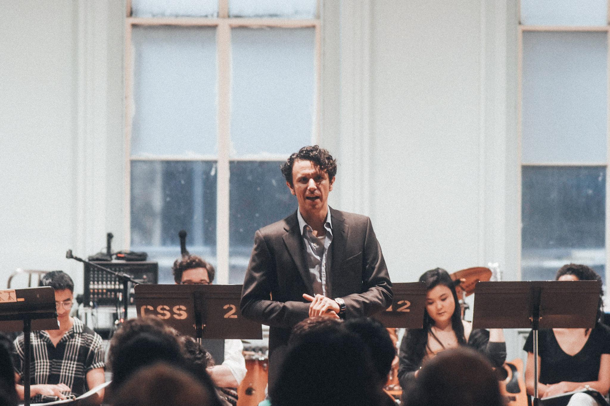 Co-Artistic Director Aaron Rossini // Photo by Kyle Studstill