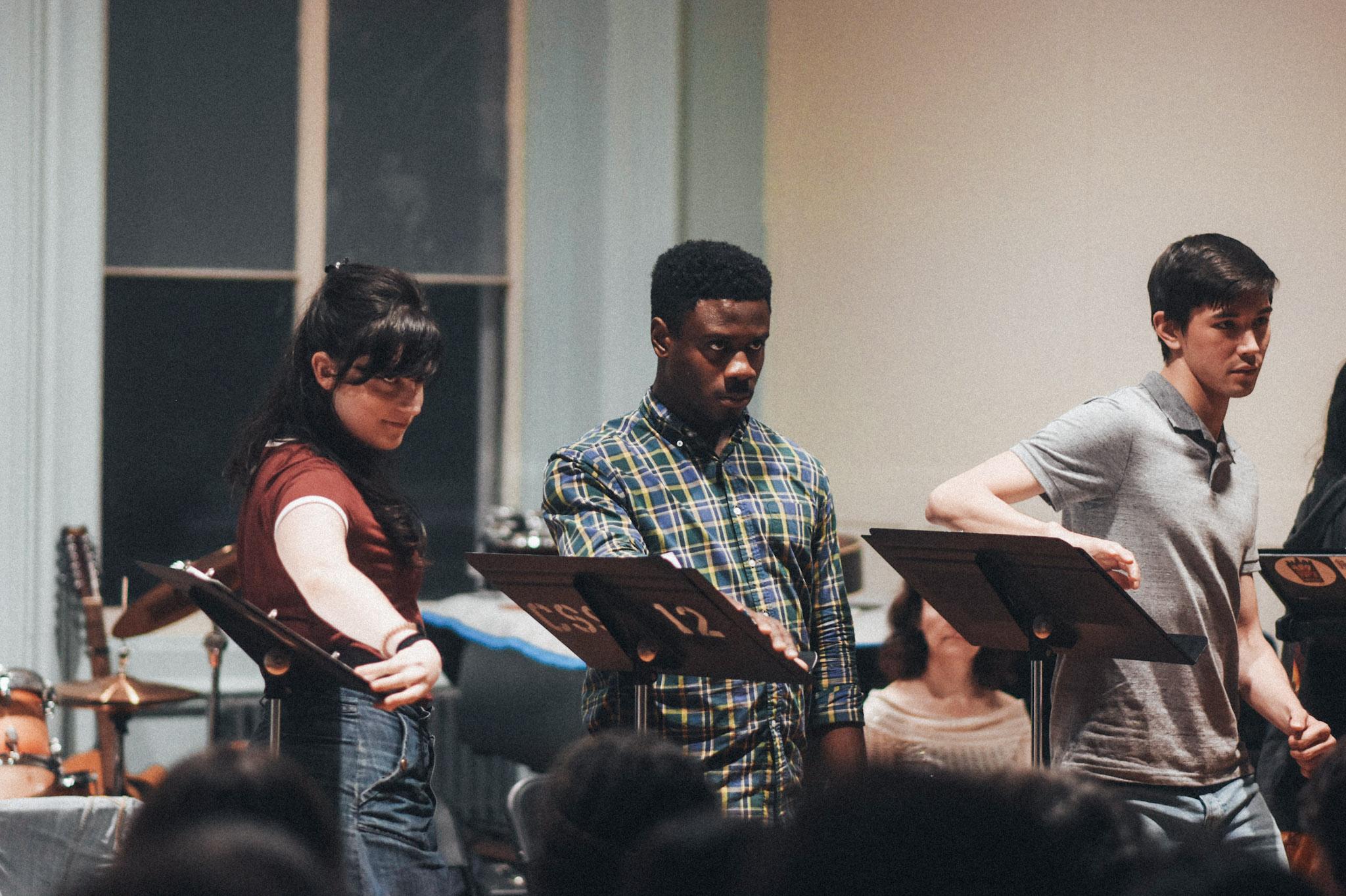 Liba Vaynberg, Marchánt Davis, and Connor Johnston // Photo by Kyle Studstill