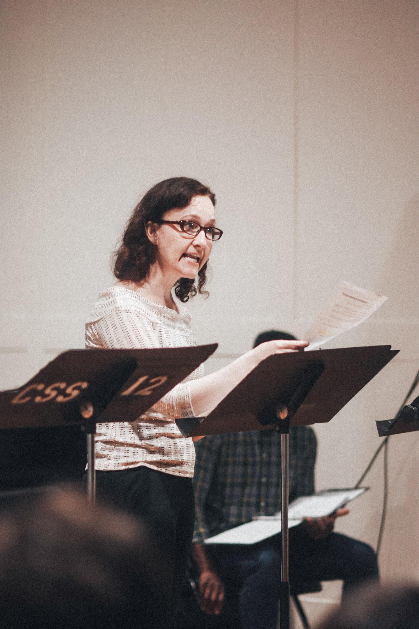 Melissa Van der Schyff // Photo by Kyle Studstill
