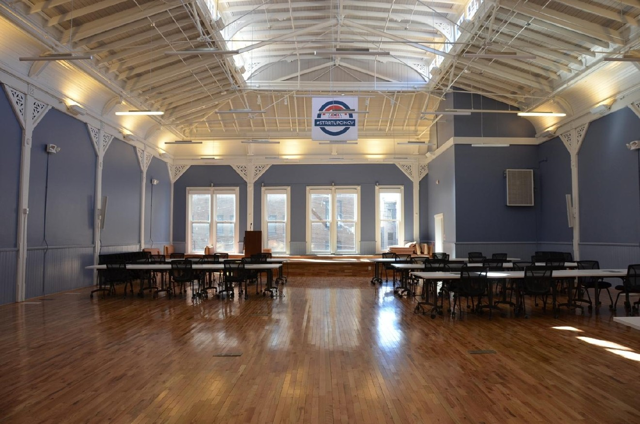 The Beer Hall at Union Hall will be home to the Smart Cities Round-Table in Cincinnati, OH on Wednesday March 15th from 11am-1pm. Lunch will be provided and private areas are available for guests that might need to take calls. Email questions to hello@smartcincy.org. (1311 Vine Street, Cincinnati, OH 45202)