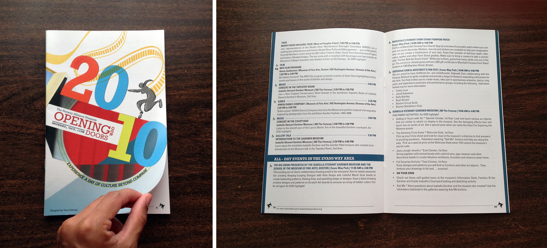 Booklet layout