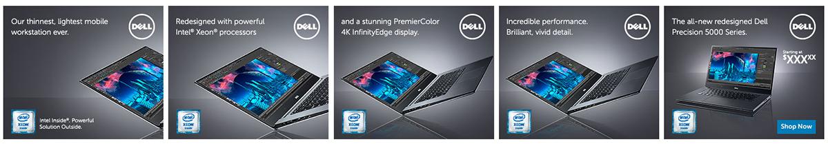 Interactive banners. Program: Flash and ActionScript. Size: 300x250 pixels