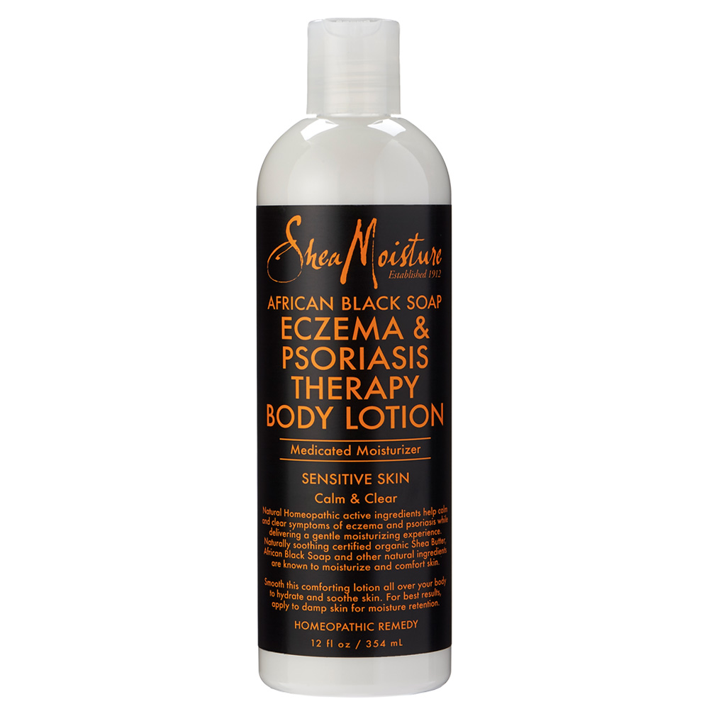 SheaMoisture African Black Soap Eczema & Psoriasis Therapy Body Lotion ($12)