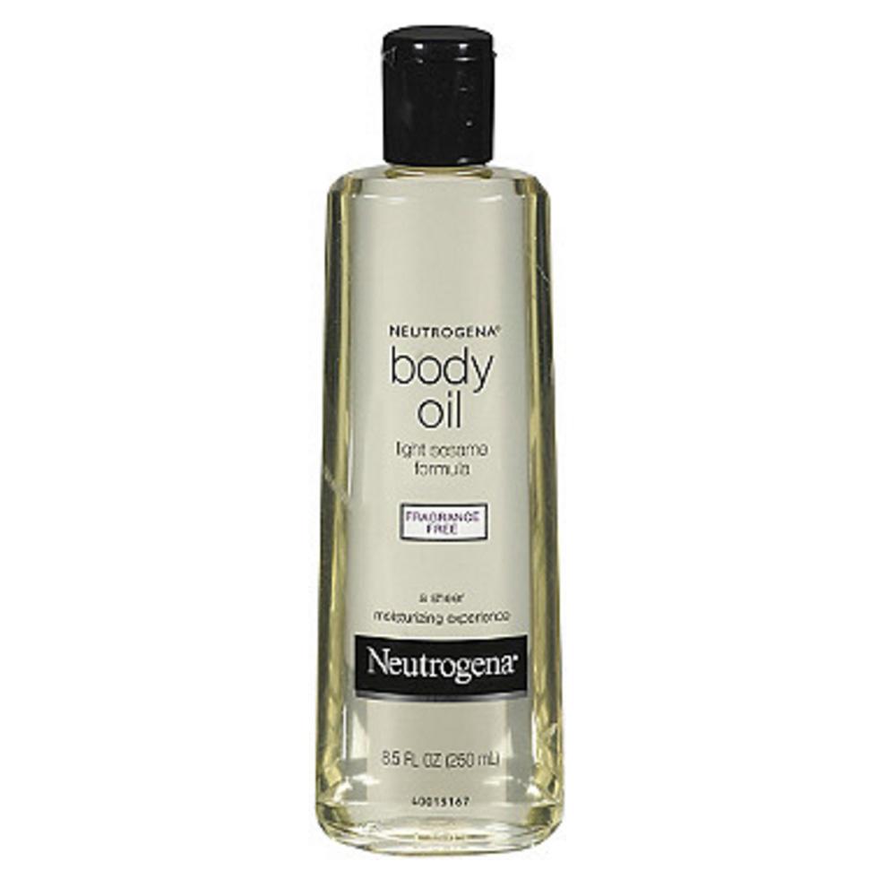 Neutrogena body oil light sesame formula,Fragrance Free ($9.99)