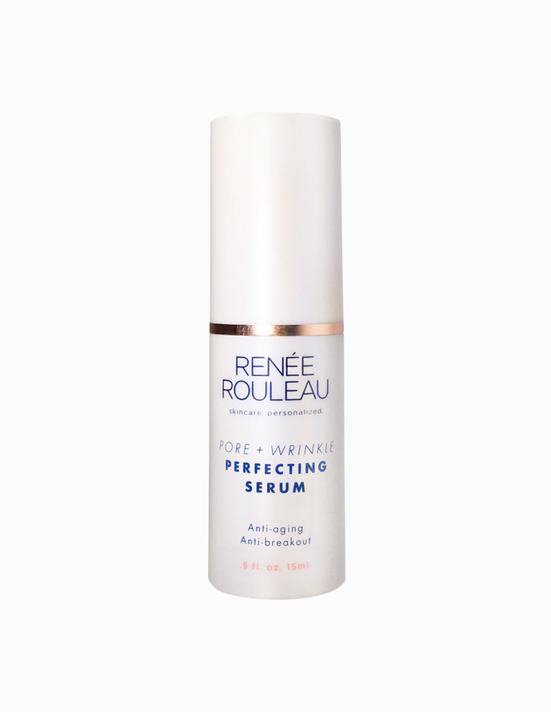 Pore + Wrinkle Perfecting Serum:$48.50  Key Ingredients: Lactic Acid, Salicylic Acid, Allantoin. Soothing and toning, exofliant to keep pores unclogged and blemish-free.