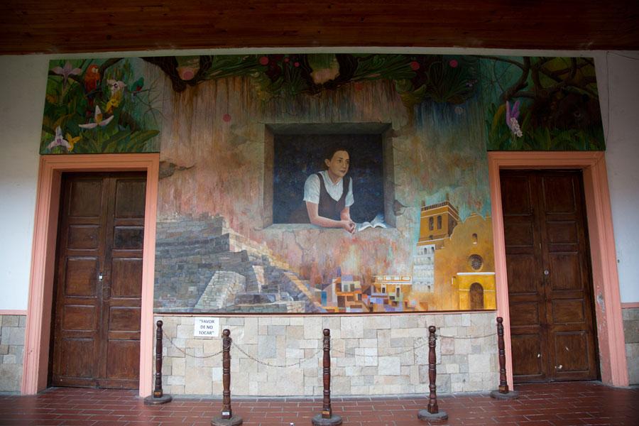 El Centro Cultural Rosario Castellanos, en Comitán, Chiapas, en 2012