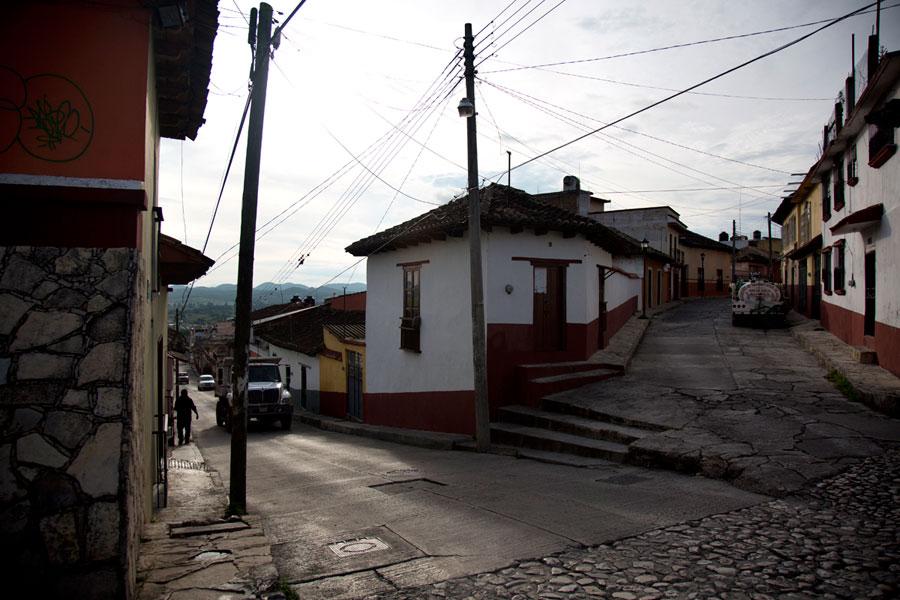 """Comitán, Chiapas, en 2012. """"No olvide usted, ni por un momento, dos circunstancias: yo era niña y vivía en Comitán, Chis., en pleno siglo XVI."""" (p. 50)"""