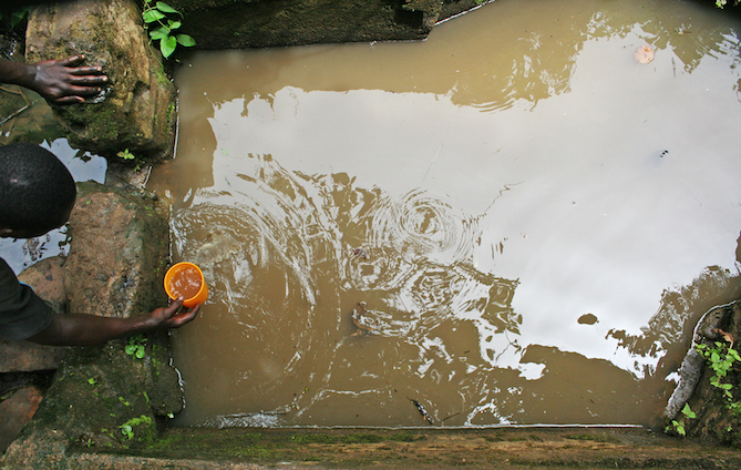The main source of water in Babubock, Cameroon. Photo credit: Water Collective