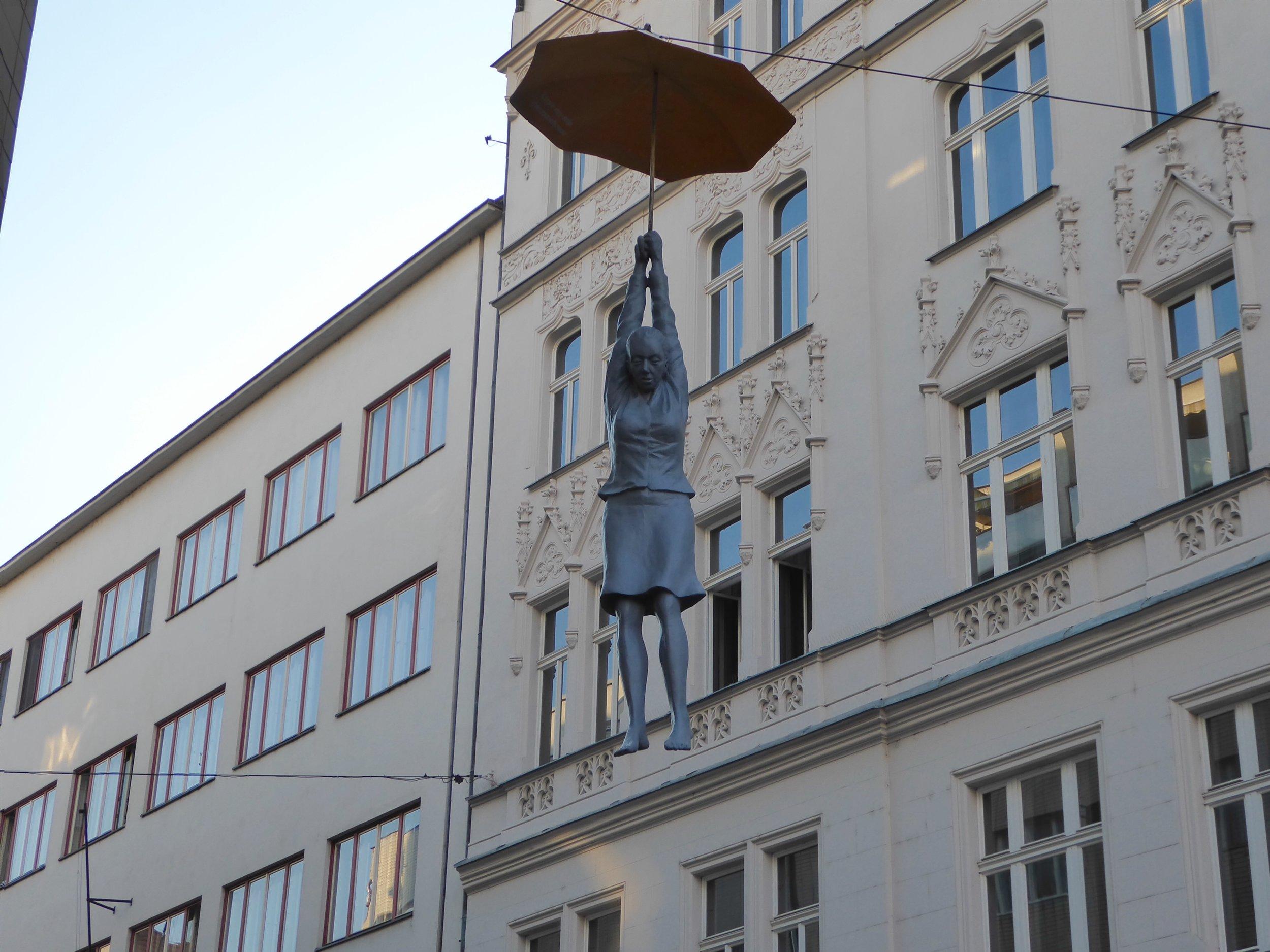 When in Prague, Look Up!