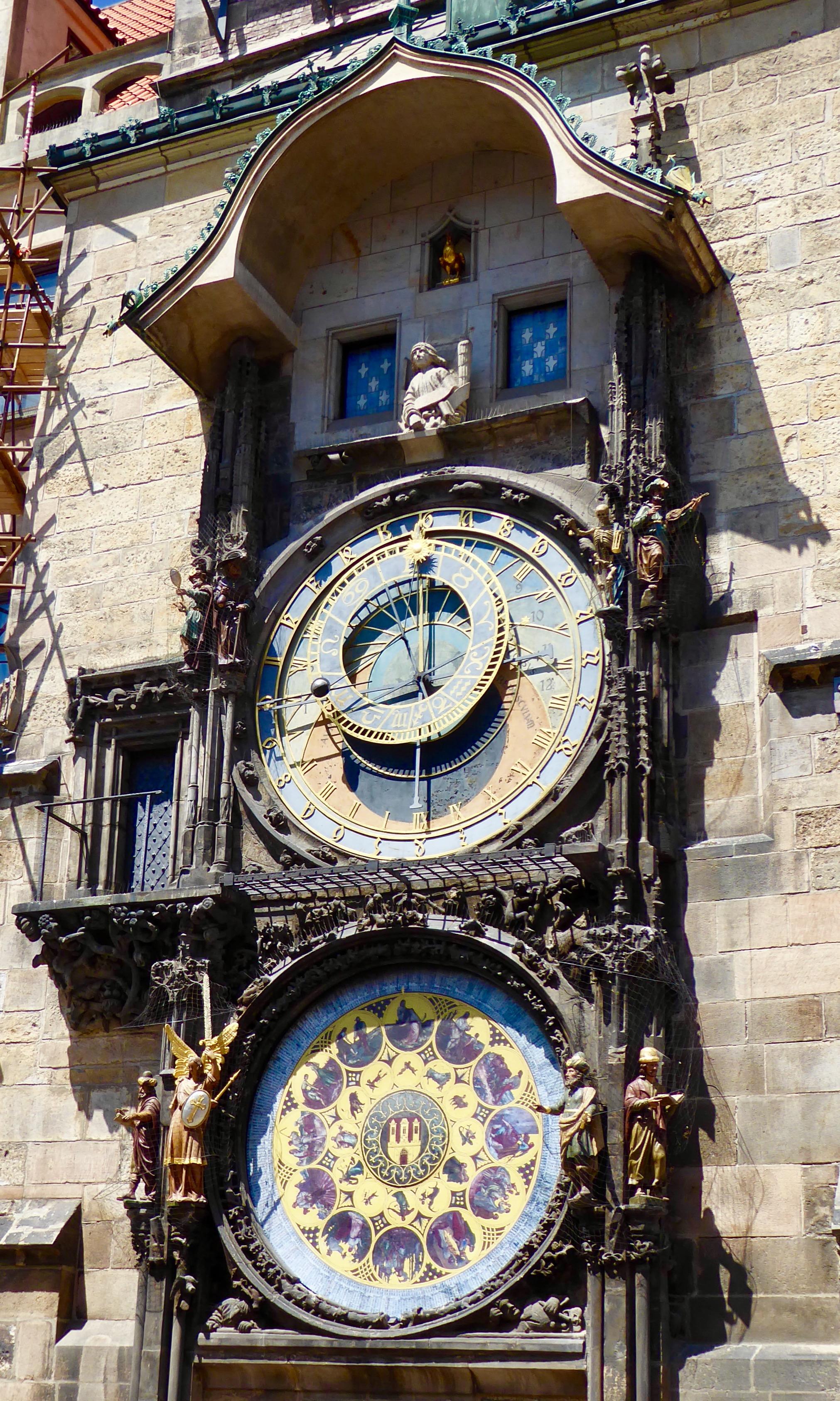 Astronomical clock.