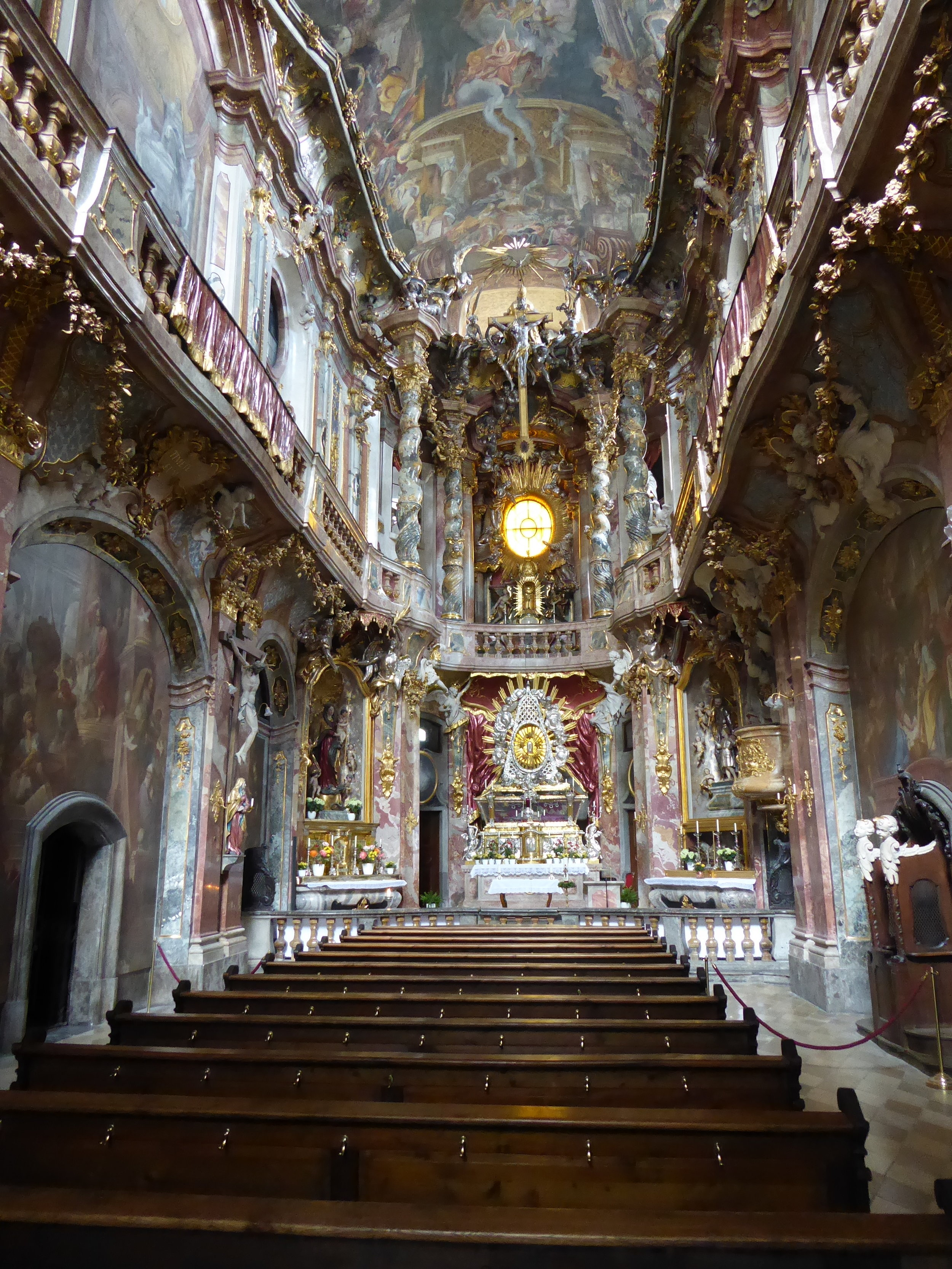 Visit to the Wieskirche, a UNESCO World Heritage Site.