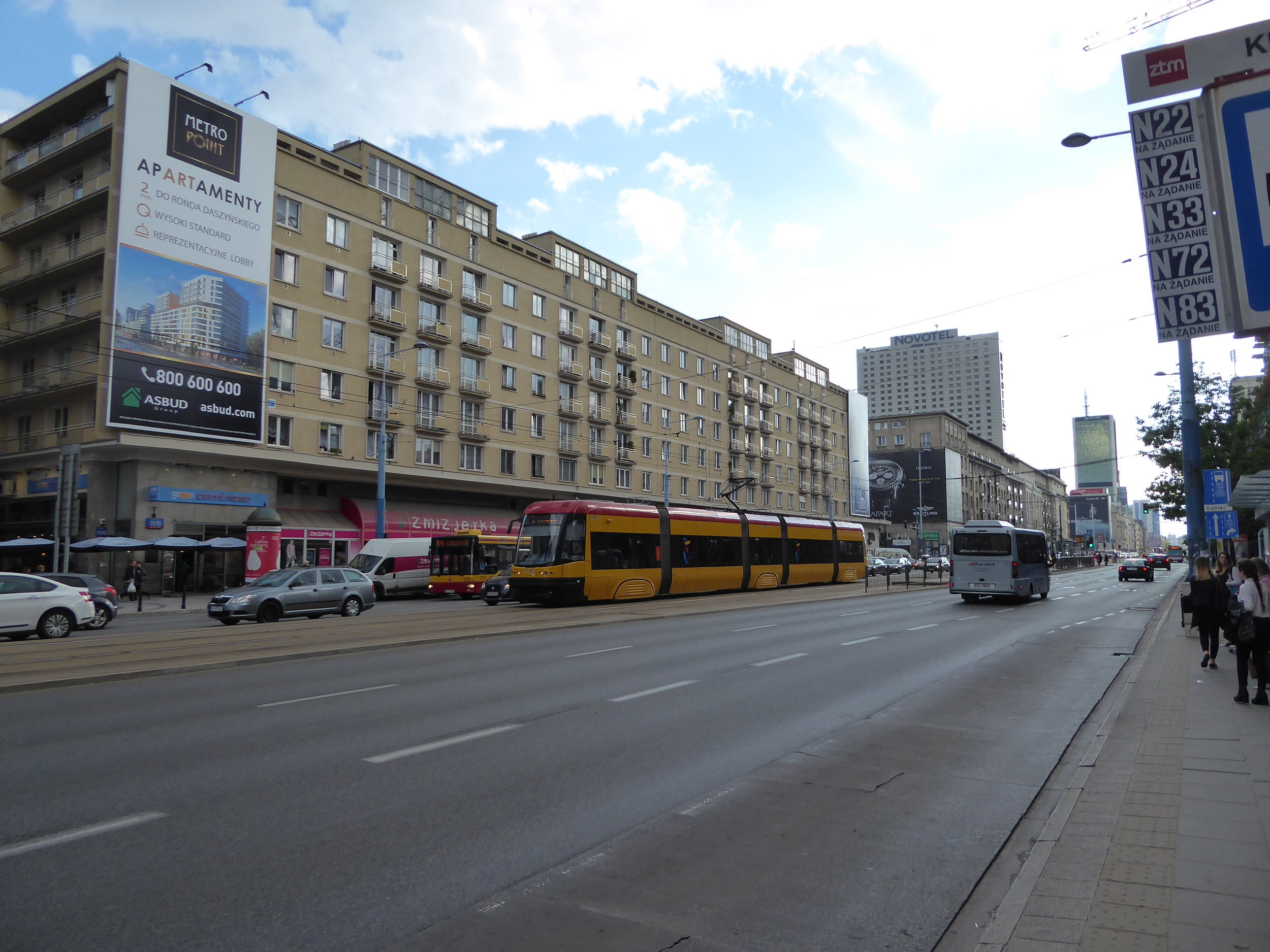 While much of Warsaw looks like this . . .