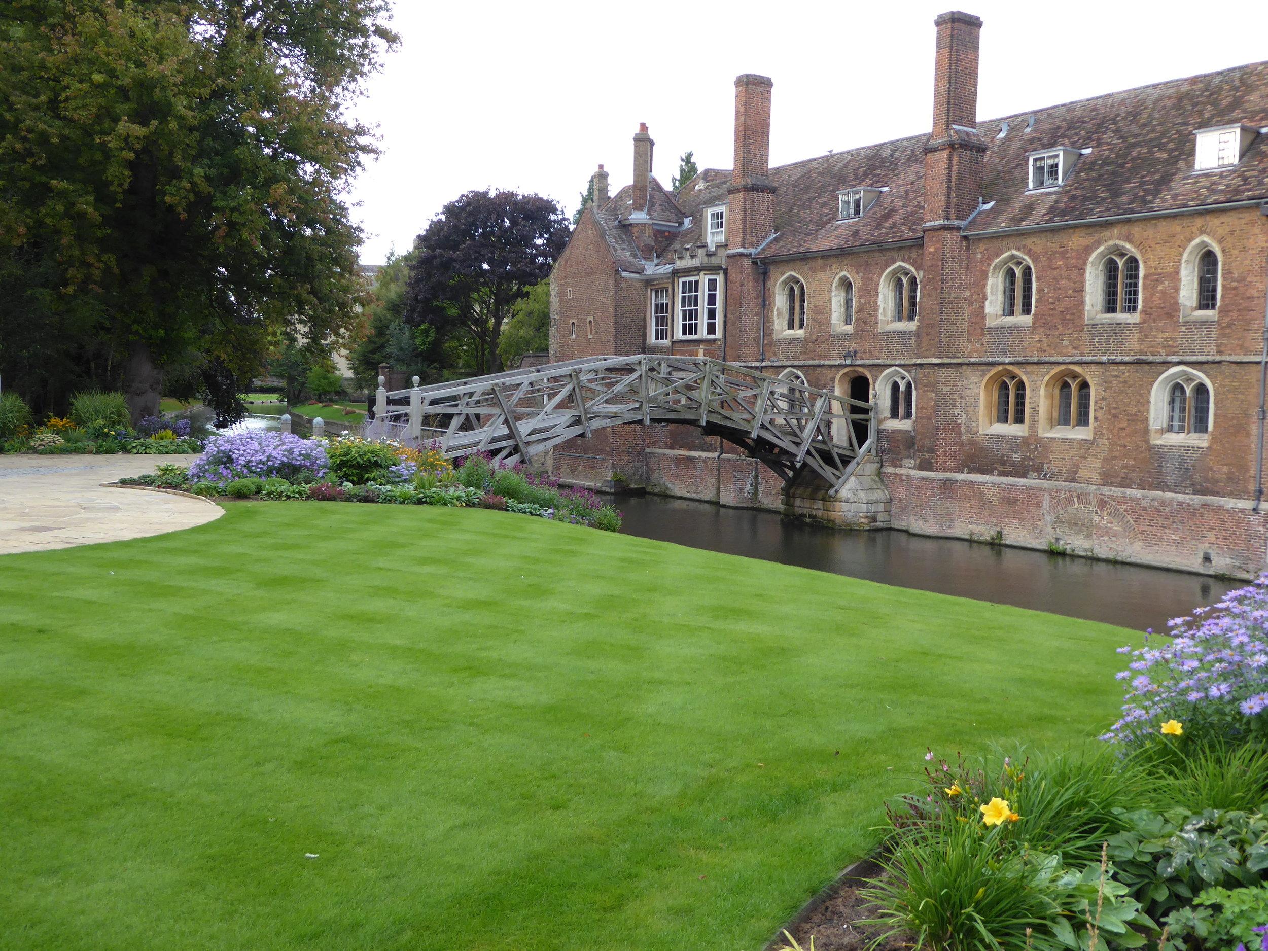 The Mathematical Bridge in Cambridge.