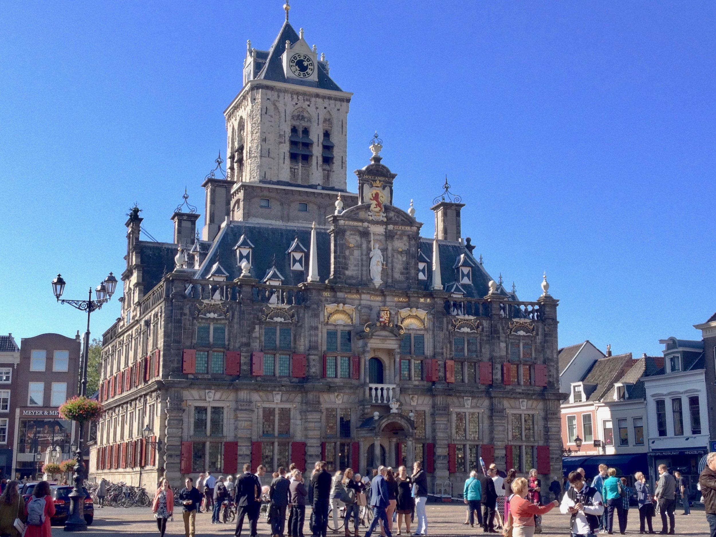 One last picture of Delft.