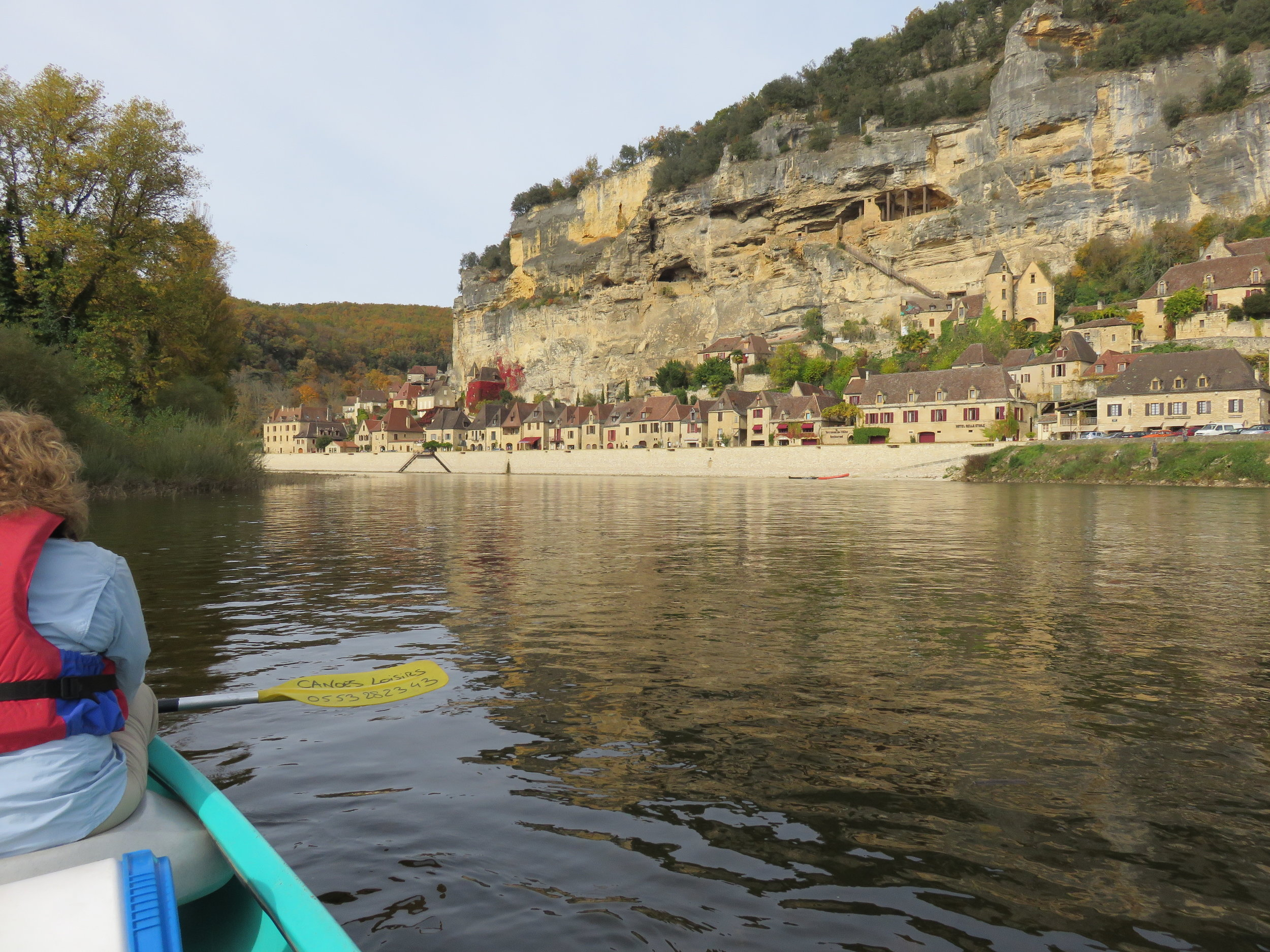 And canoeing down on the river.