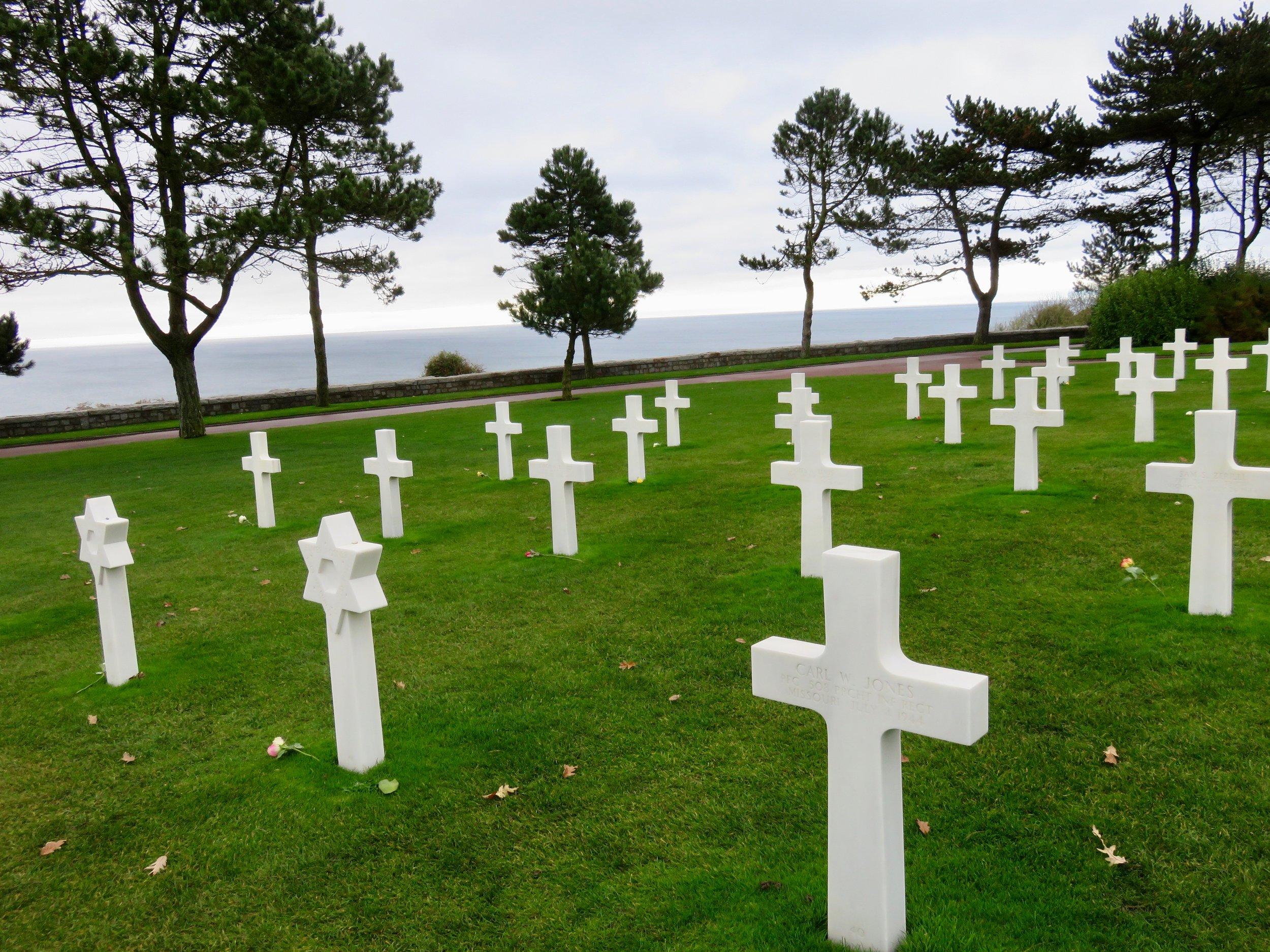 The extraordinary American Cemetery overlooking Utah Beach, Normandy