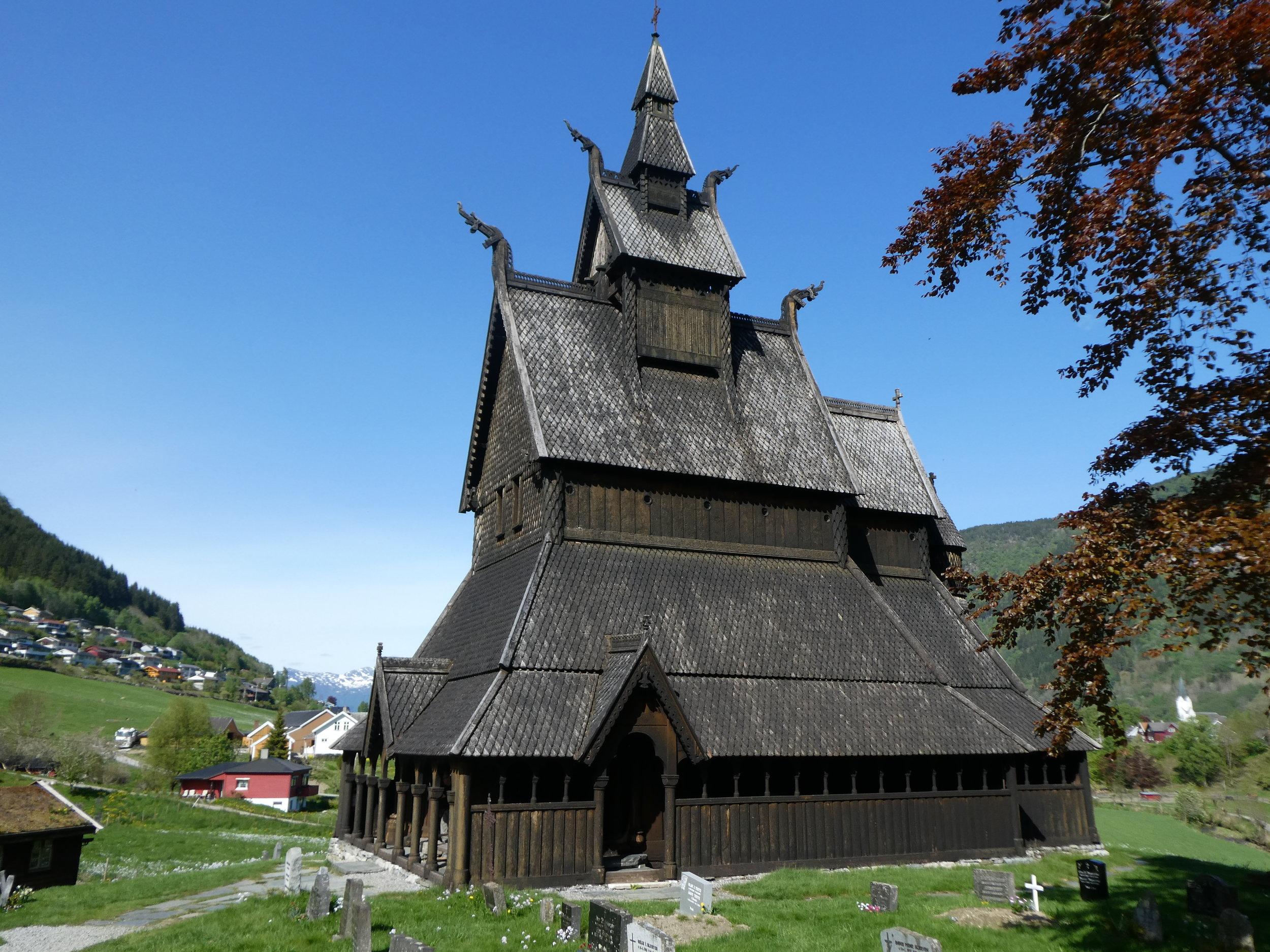 Stave church.