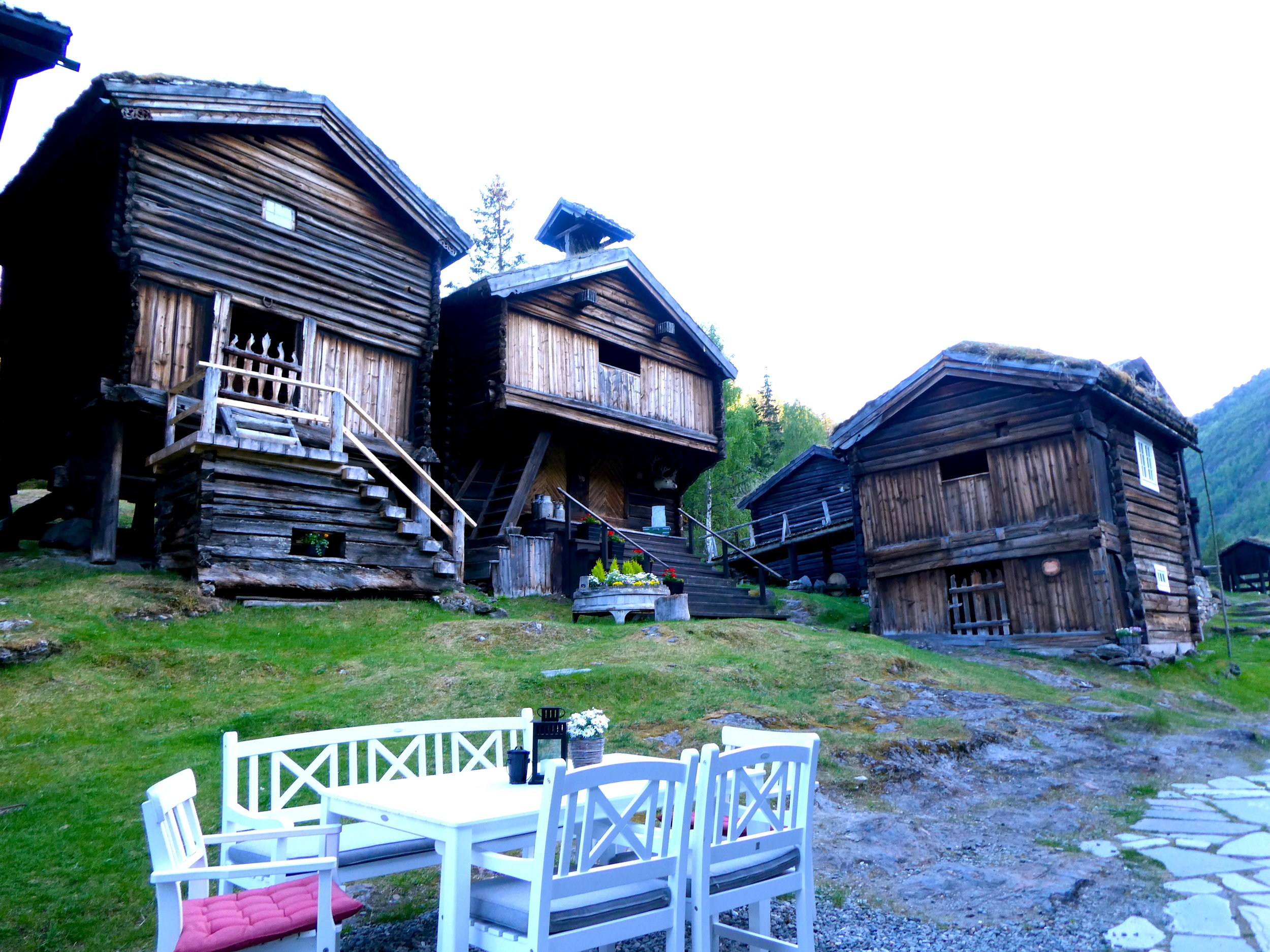 Overnight stay in a stable at the  Røisheim Hotel . This is actually one of two historic hotels we stayed at in Norway.