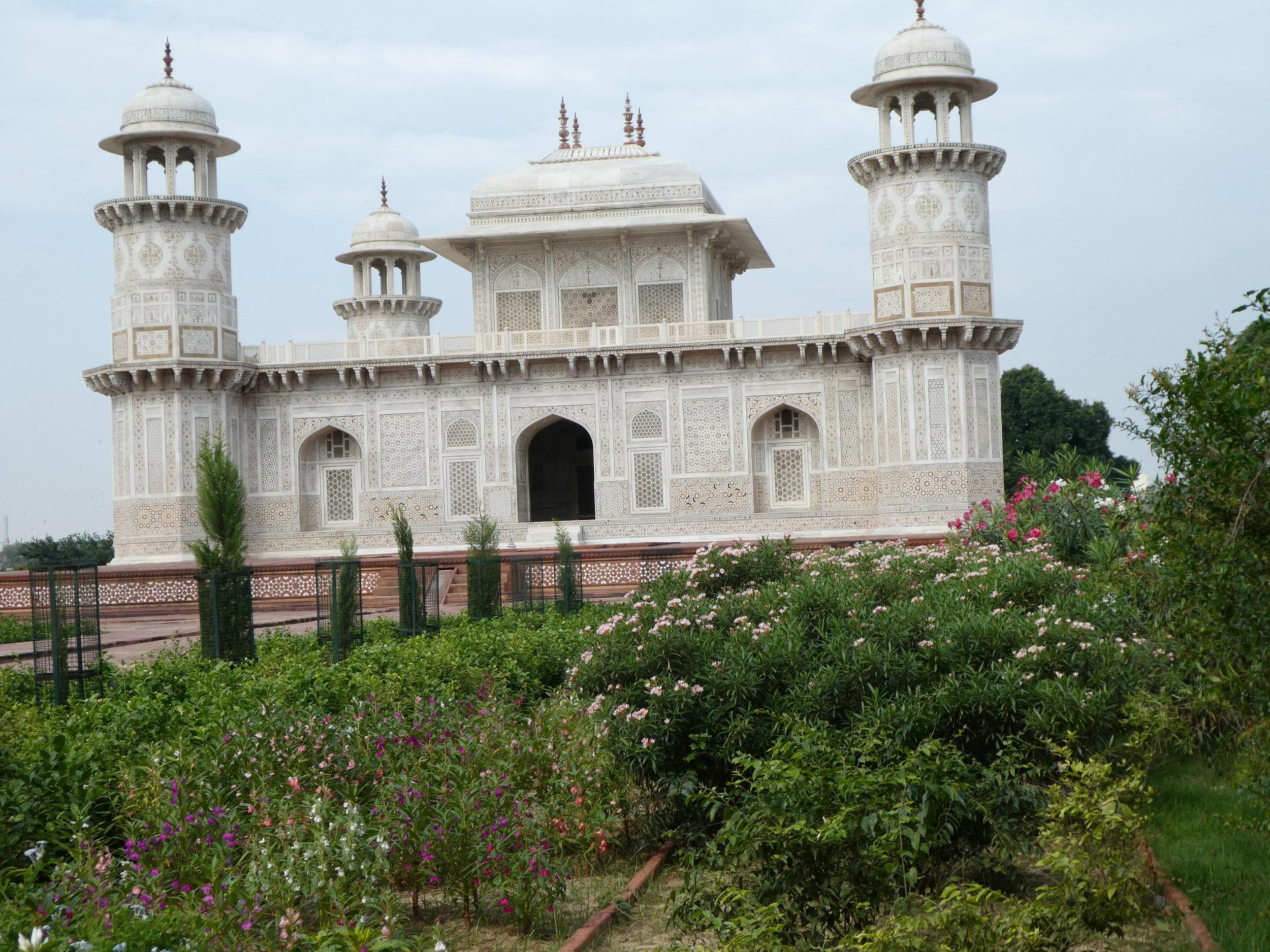Tomb of I'timād-ud-Daulah, sometimes called the Baby Taj.