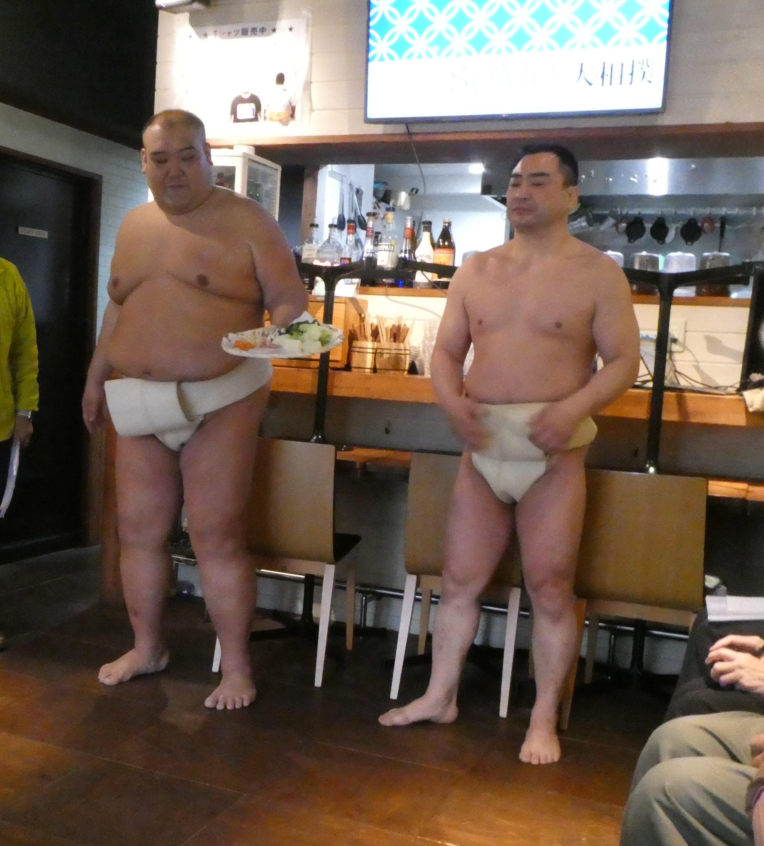 Sumo restaurant. We never knew this was a thing.