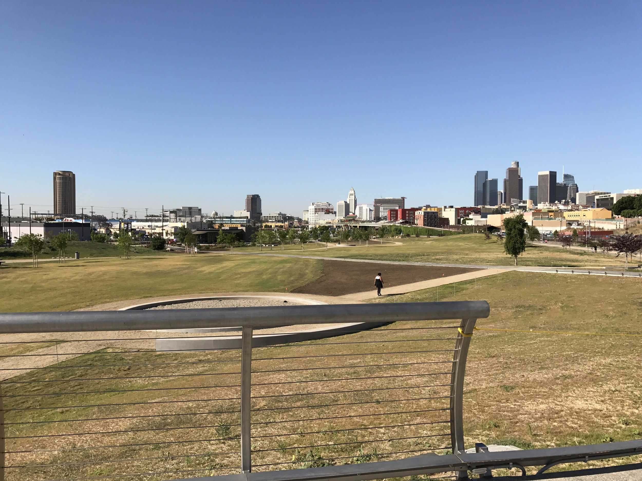 The new Los Angeles State Historic Park, April 2017.
