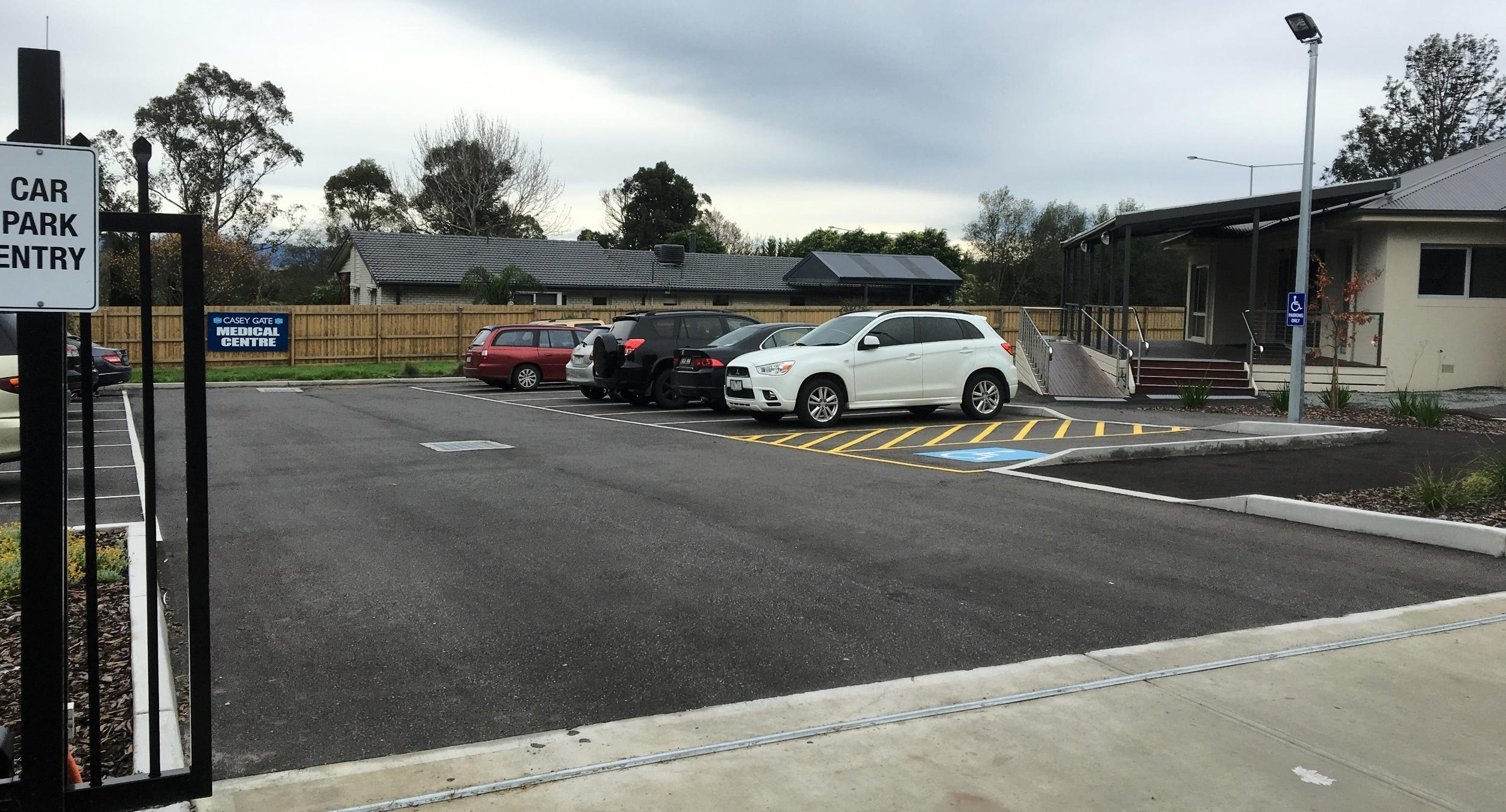 Car Park Construction, Narre Warren