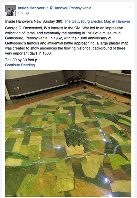An interactive 360 photo as shown in a Facebook post.