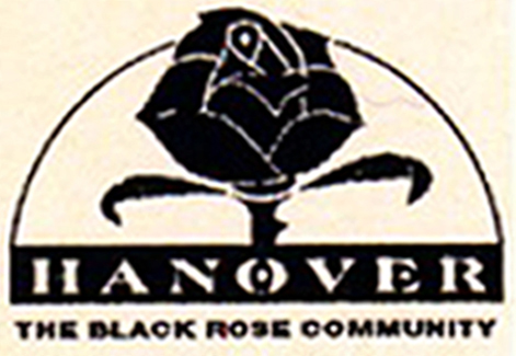 The black rose used in a Hanover area advertisement.