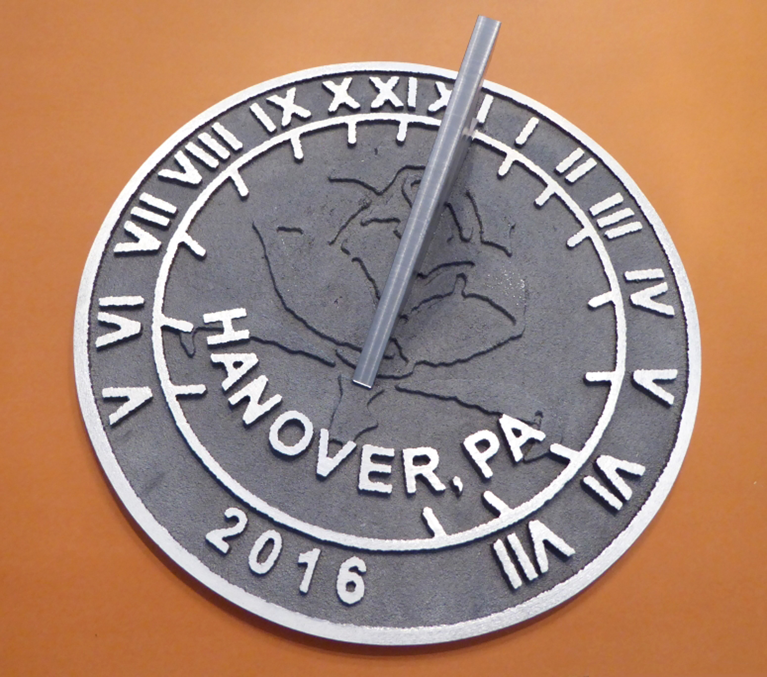 Completed work -courtesy of Chet Roberts/ANCR Sundials