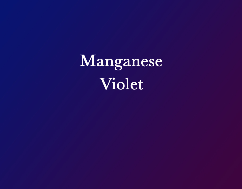 Gradient between two different RGB values for Manganese Violet.