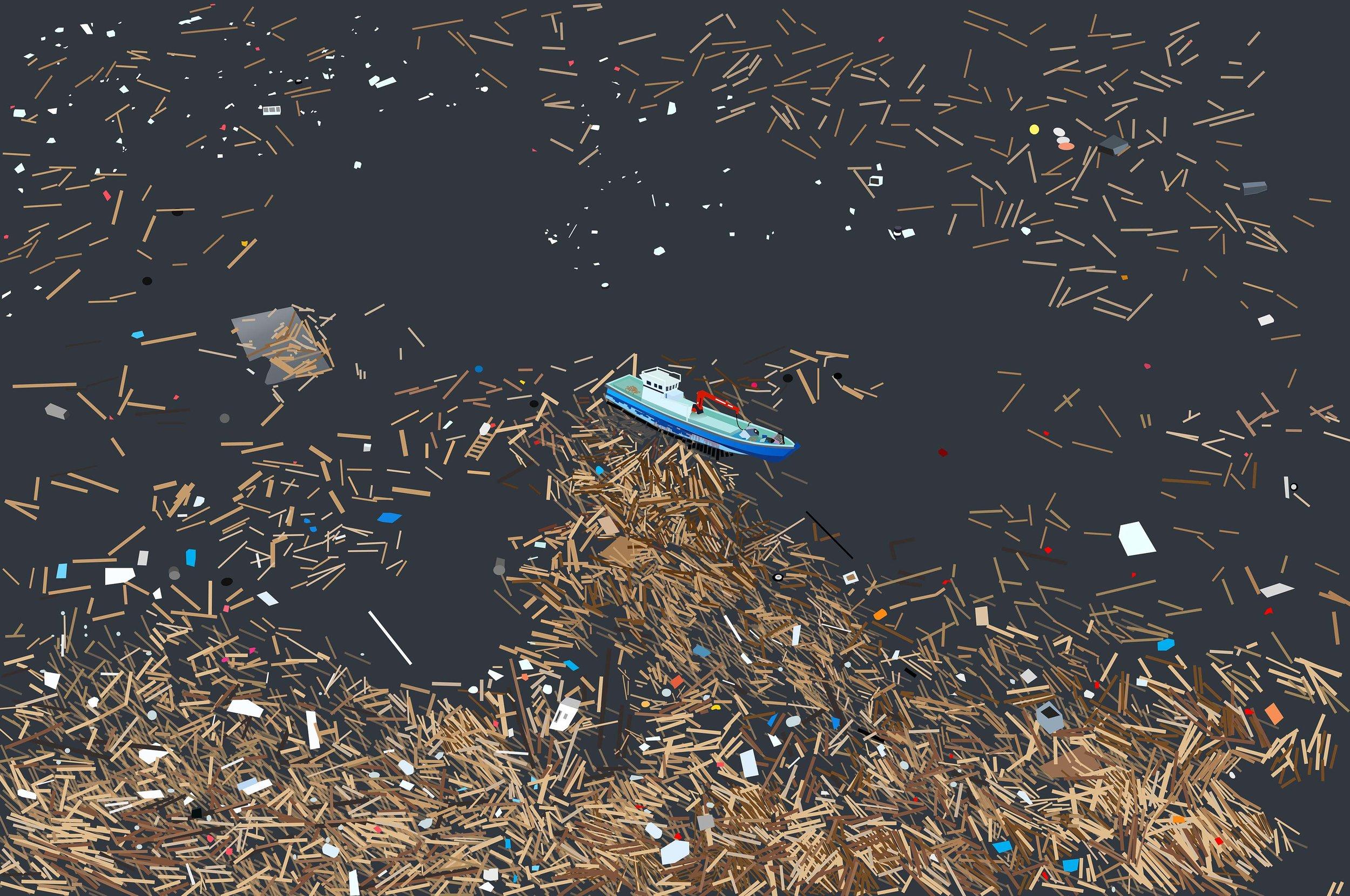 Tsunami Size Mess