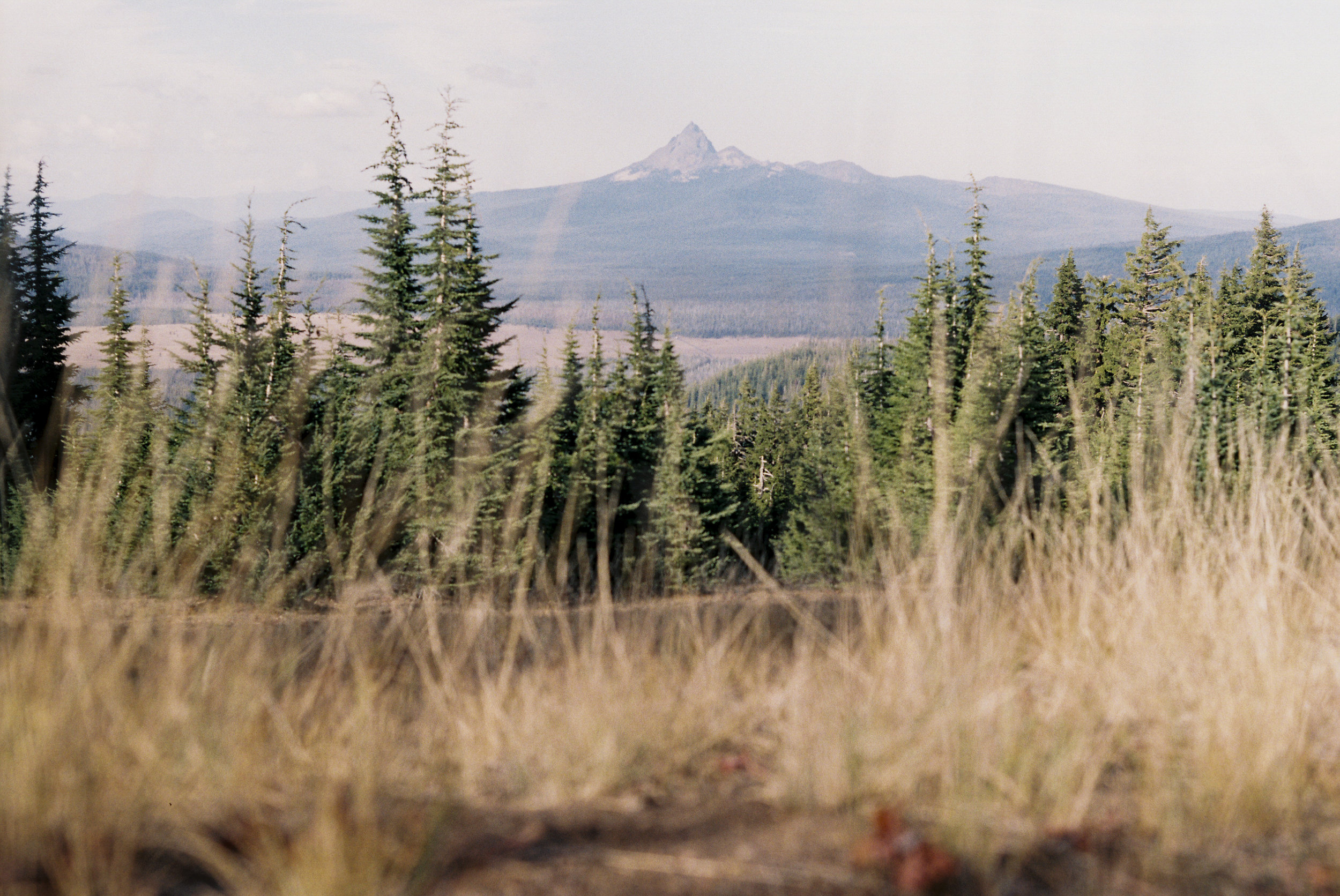 Mount Jefferson in the distance. Crater Lake National Park, OR