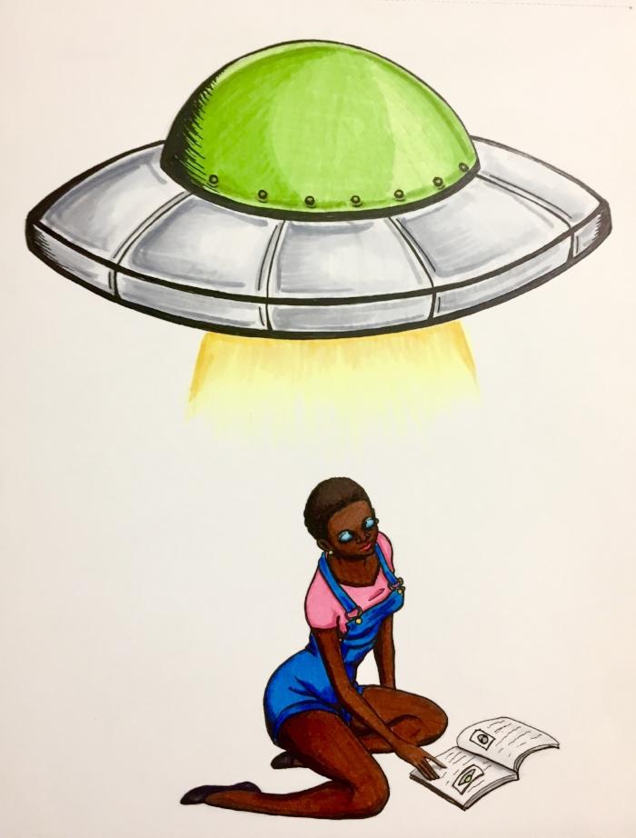 Green UFO Cimpoe Gallery