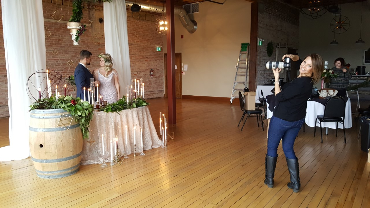 Denise Belanger in ACTION capturing all the magic!