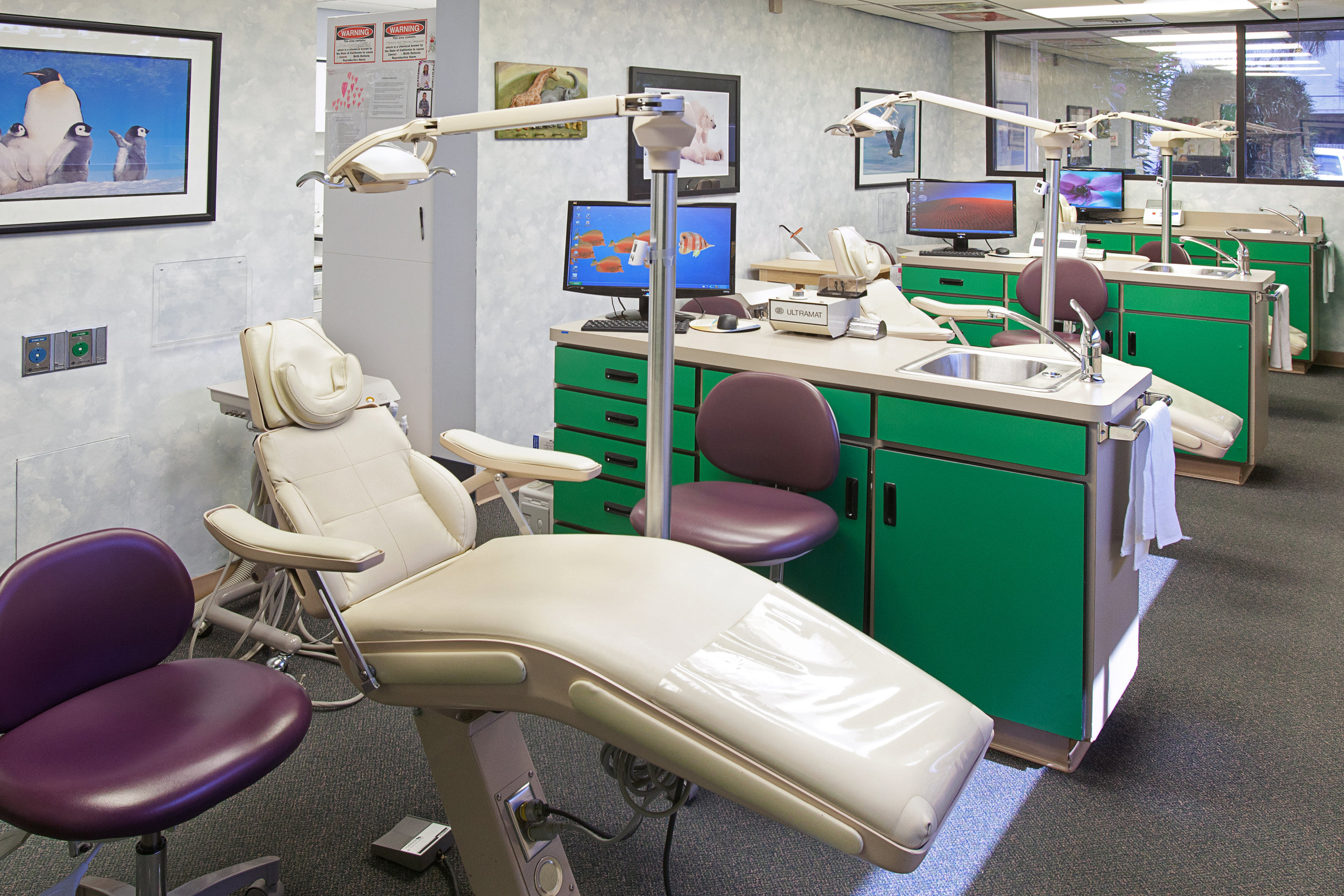 we offer preventive education,sealants, fluoride treatments,tooth-colored fillings and regular check-ups, as well as orthodontics and oral surgery.