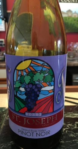Award winning St Joseph Wine