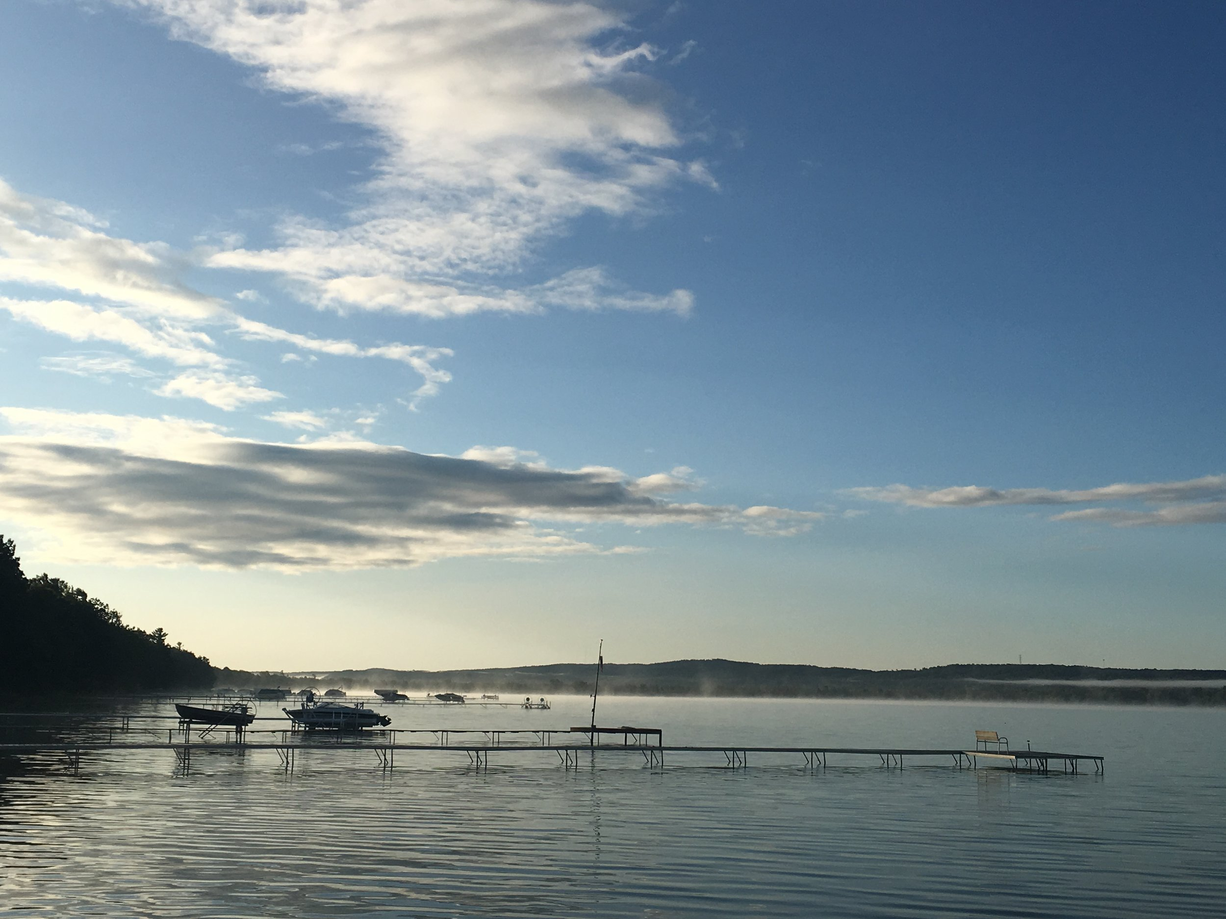 Early morning on Platte Lake