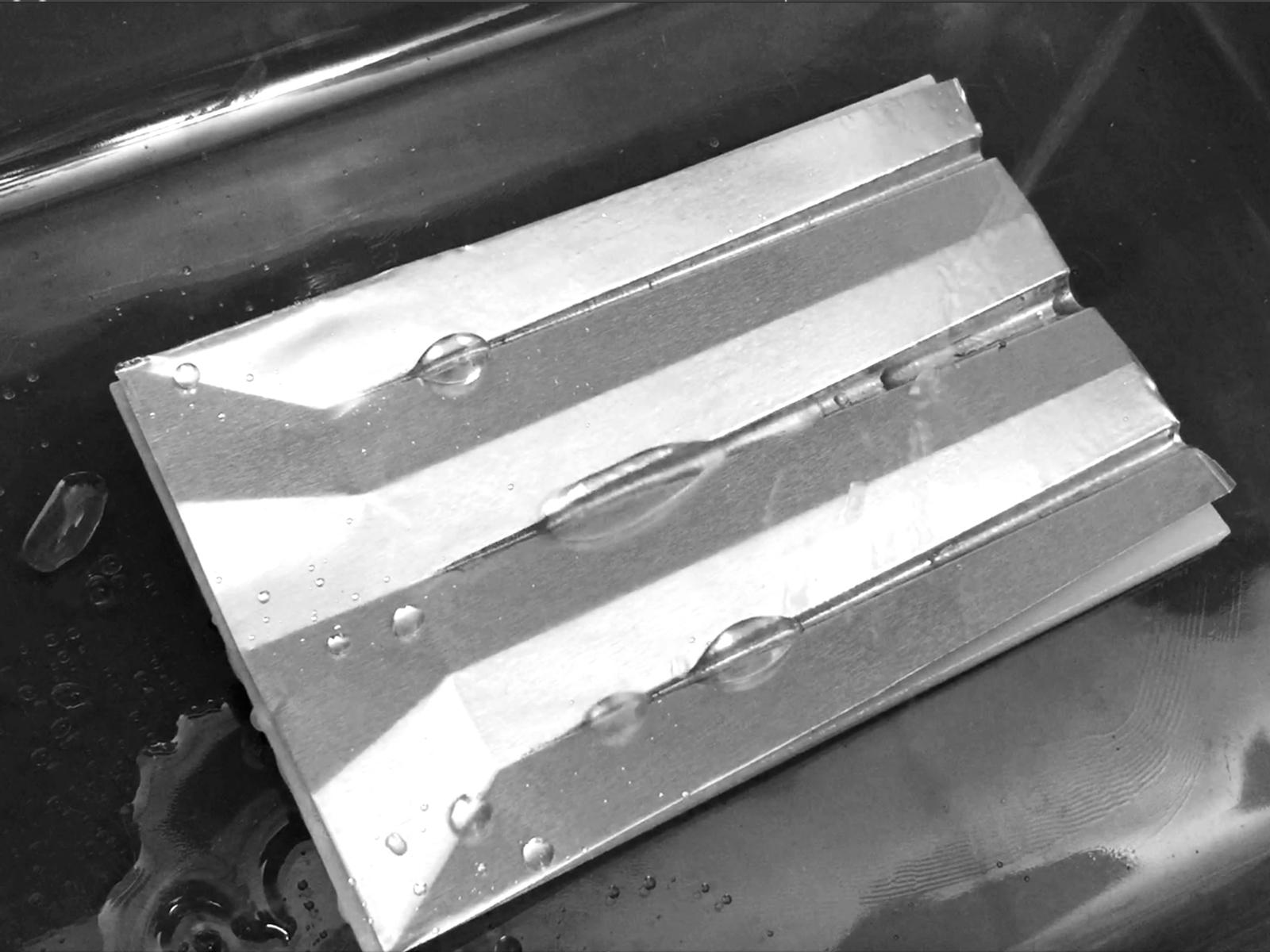 bohmetized aluminum channels