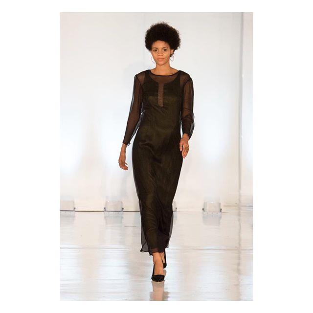 The Lina Dress on the runway . . . . . @channiee_lu  @presleyannphoto  @oxfordfashionstudio  #nyfw2017 #fashionweek2017 #fashionweek #nyc #studio450 #linadress #caravan #2017 #oxfordfashionstudio