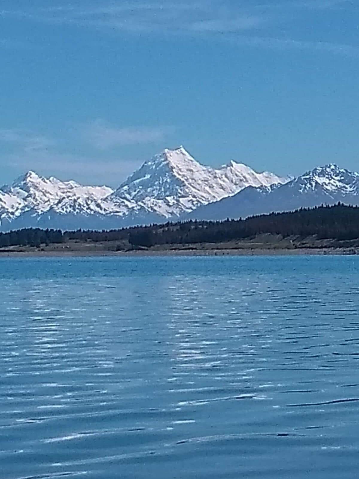 Mount. Cook from near Twizel.