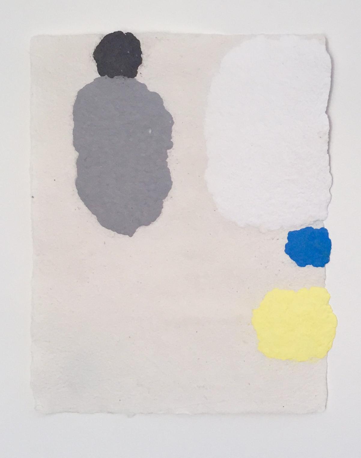 Hyun , 2018, cotton futon pulp painting, 13 x 17 inches