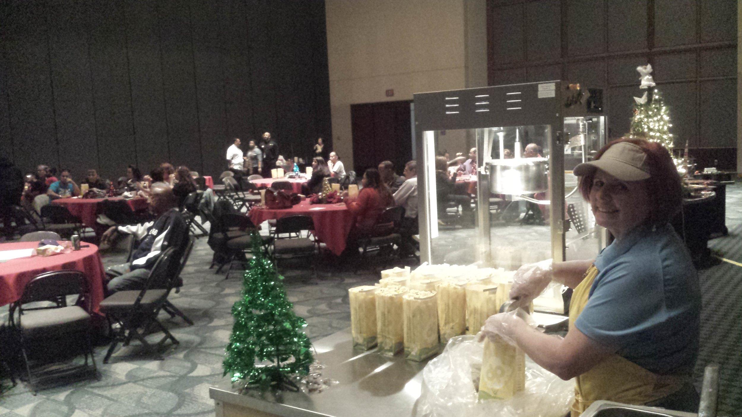 Doc Popcorn catering event