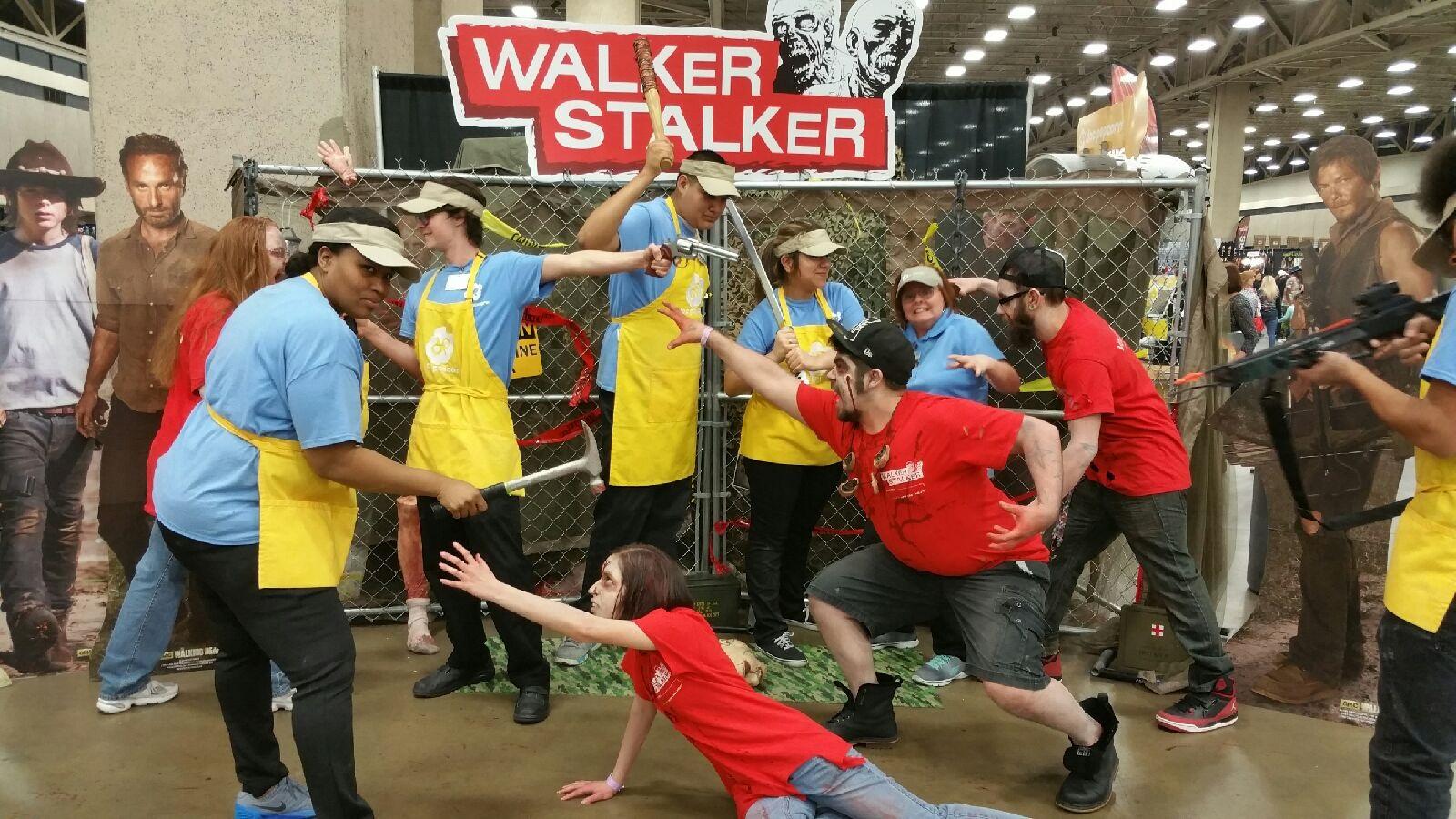 Doc Popcorn at Walker Stalker